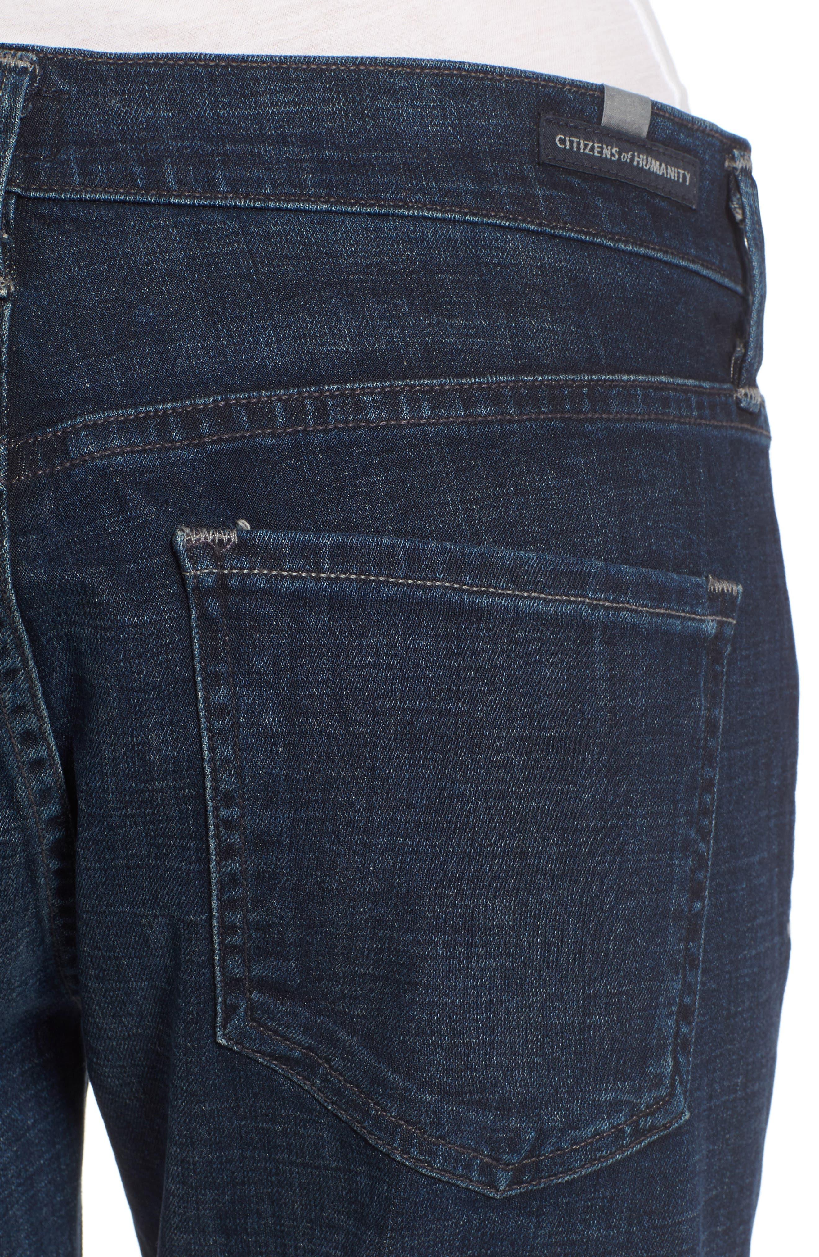 Emerson Slim Boyfriend Jeans,                             Alternate thumbnail 4, color,                             408