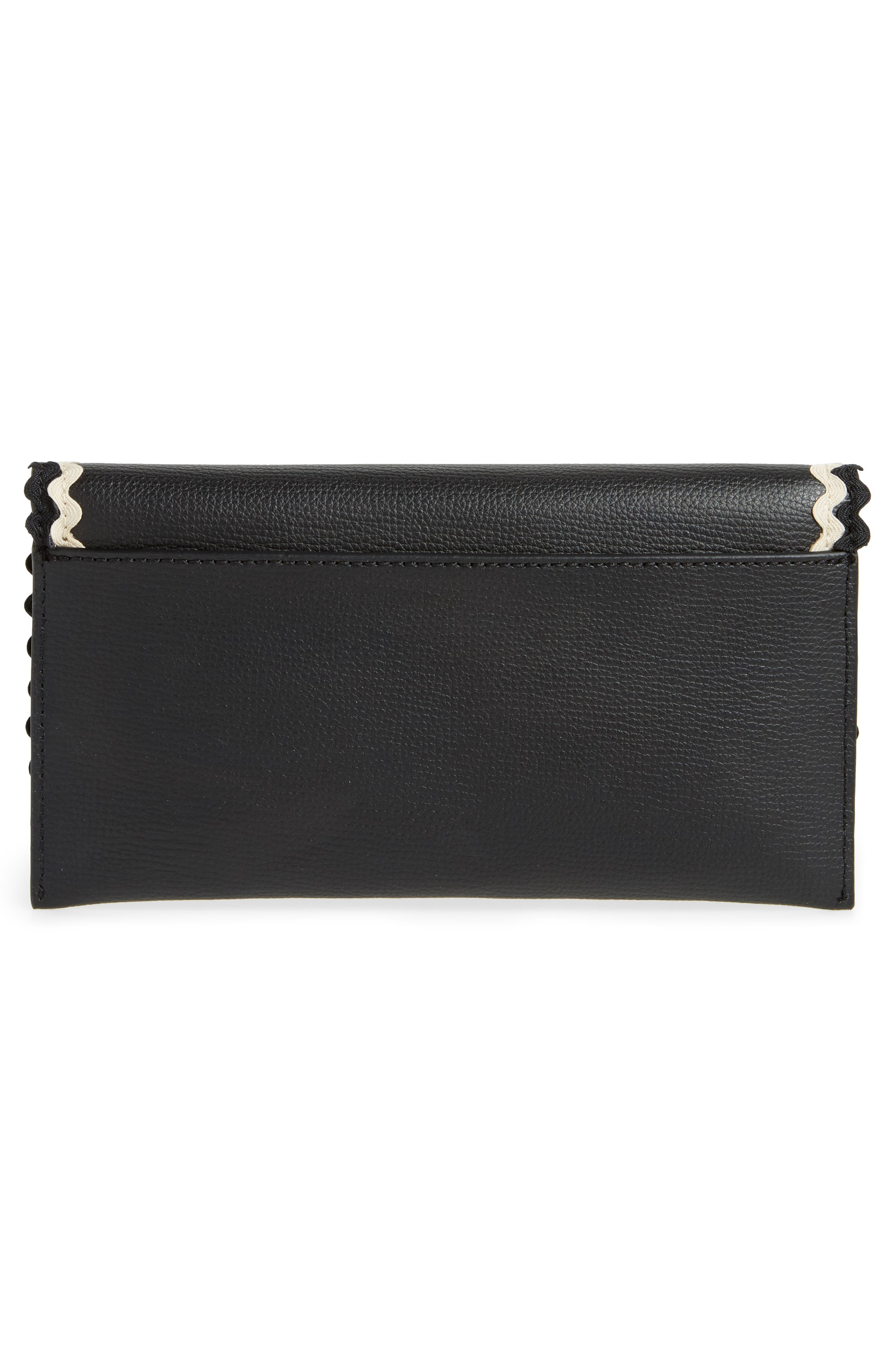 Eveything Embellished Leather Wallet,                             Alternate thumbnail 12, color,