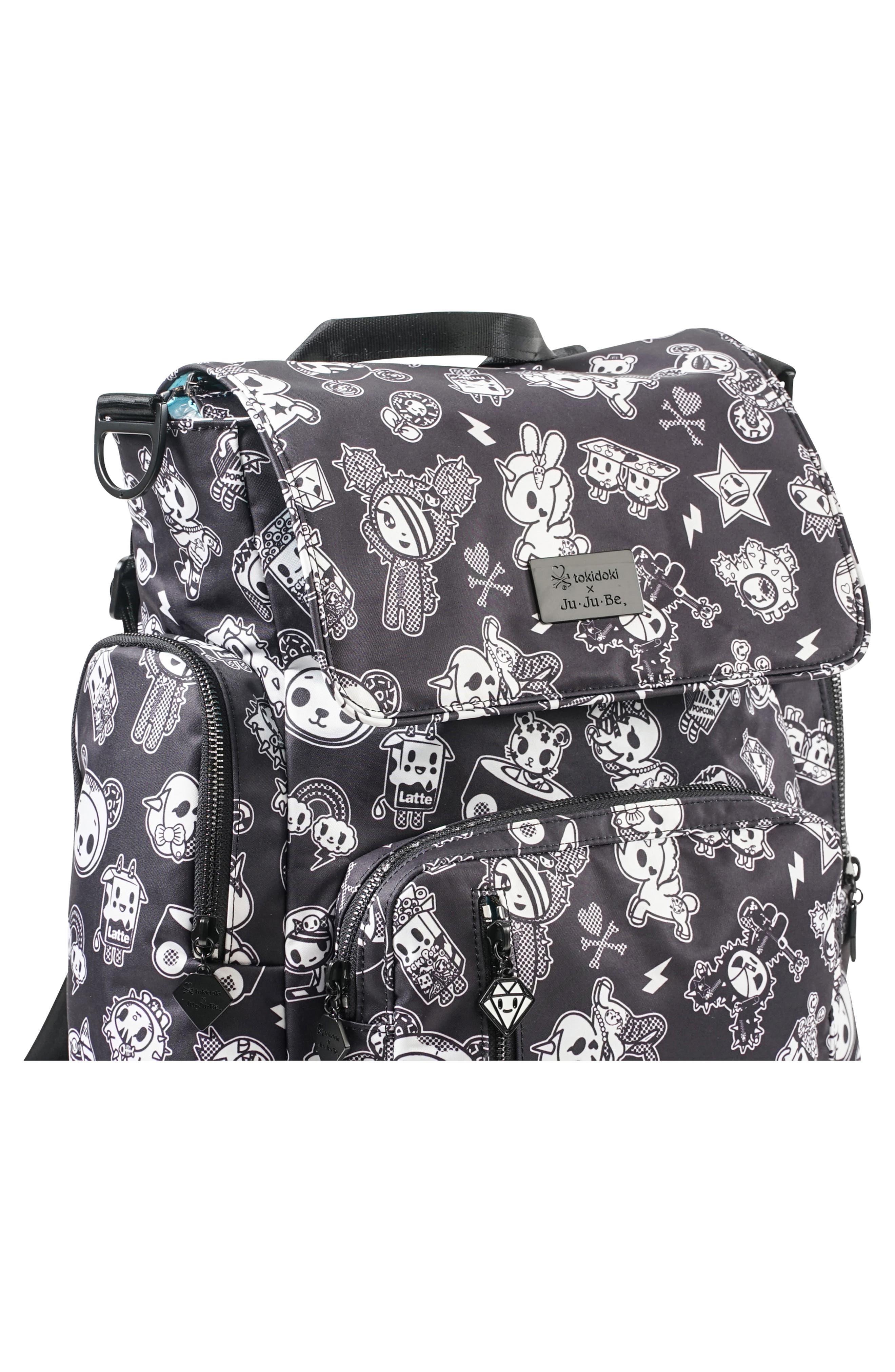 x tokidoki Be Sporty Diaper Backpack,                             Alternate thumbnail 5, color,                             009