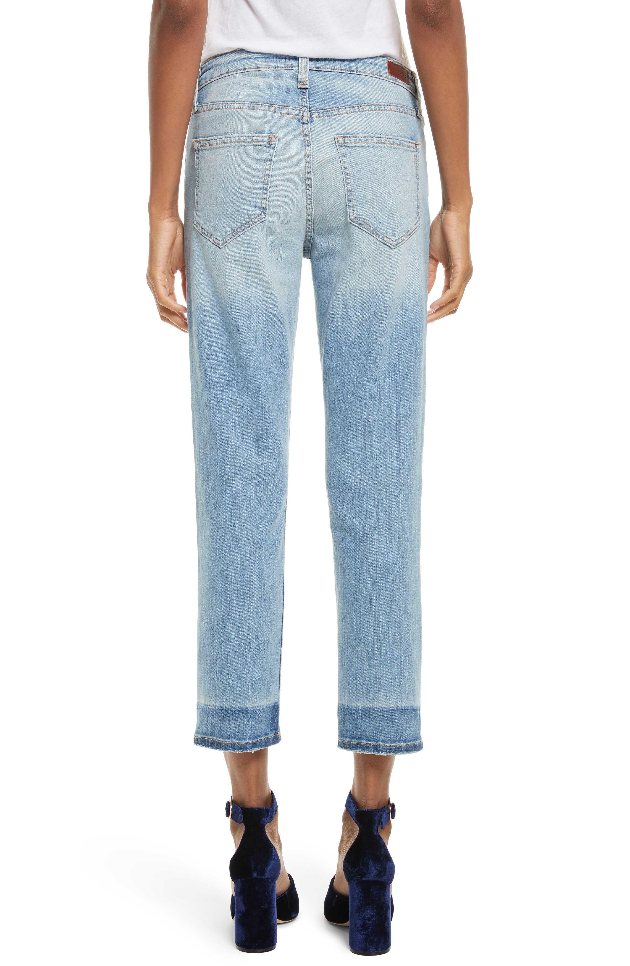Josalind Straight Leg Crop Jeans,                             Alternate thumbnail 2, color,                             479