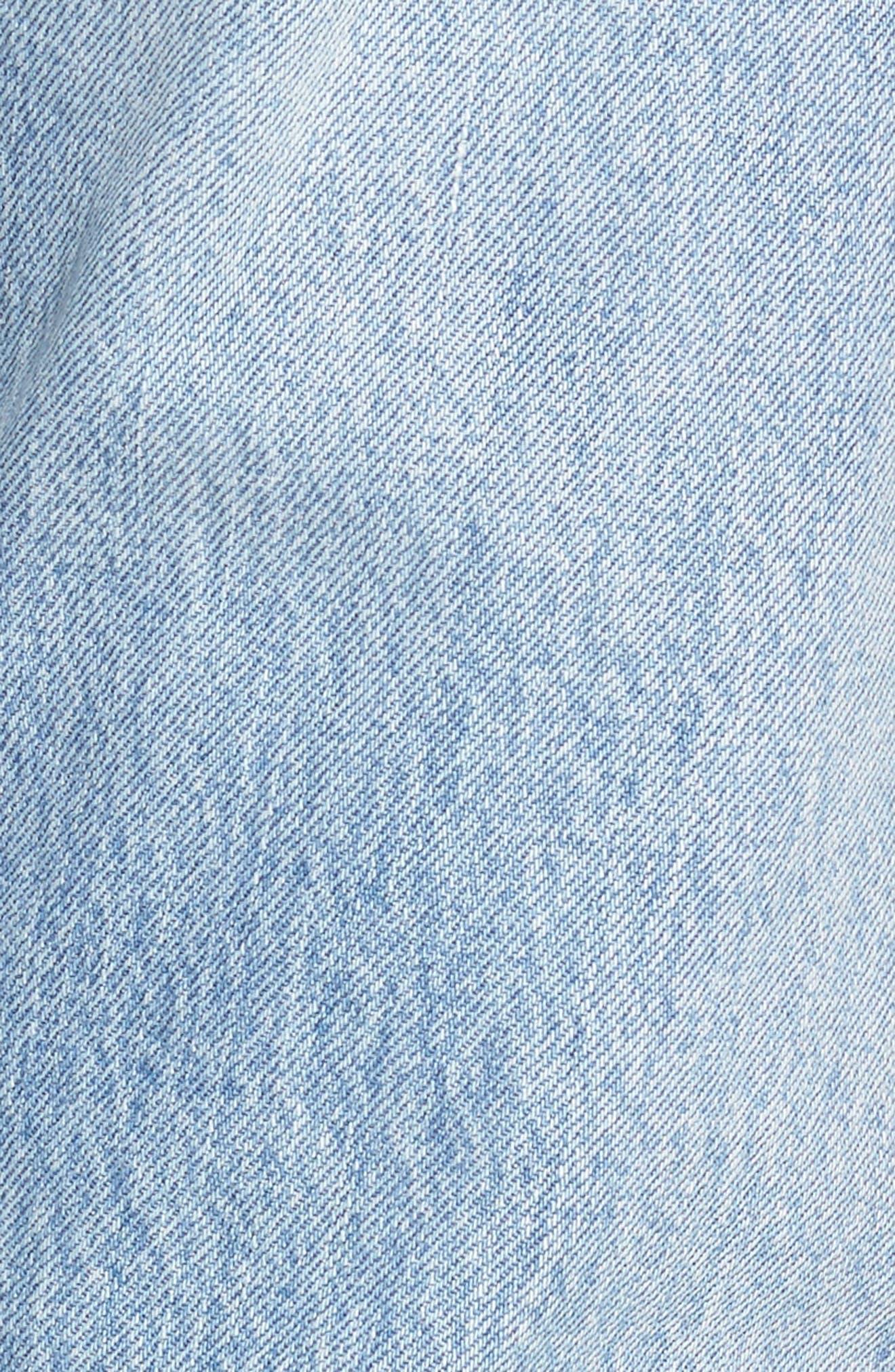 501<sup>®</sup> Boyfriend Jeans,                             Alternate thumbnail 6, color,                             450