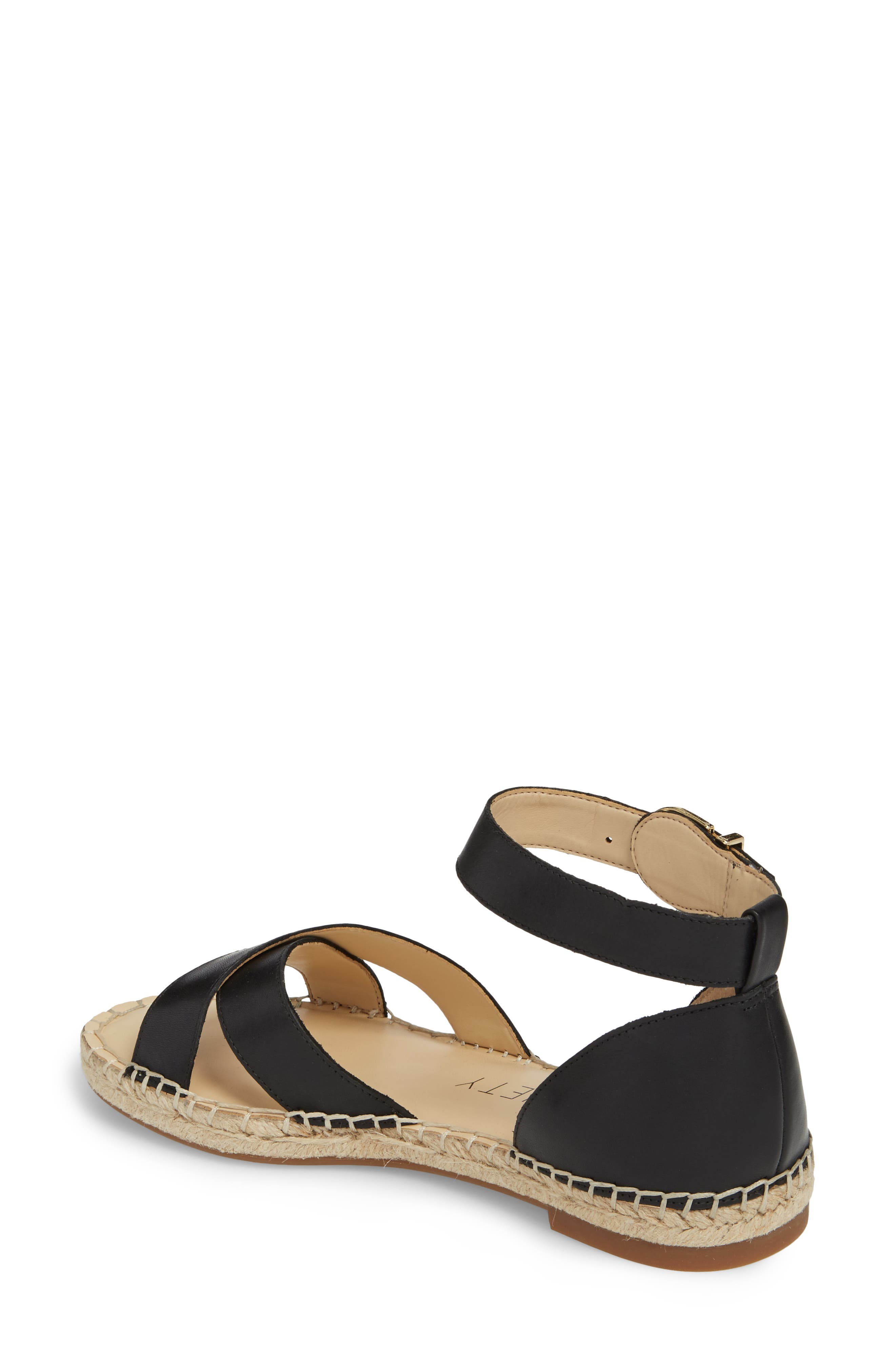 Saundra Espadrille Sandal,                             Alternate thumbnail 5, color,
