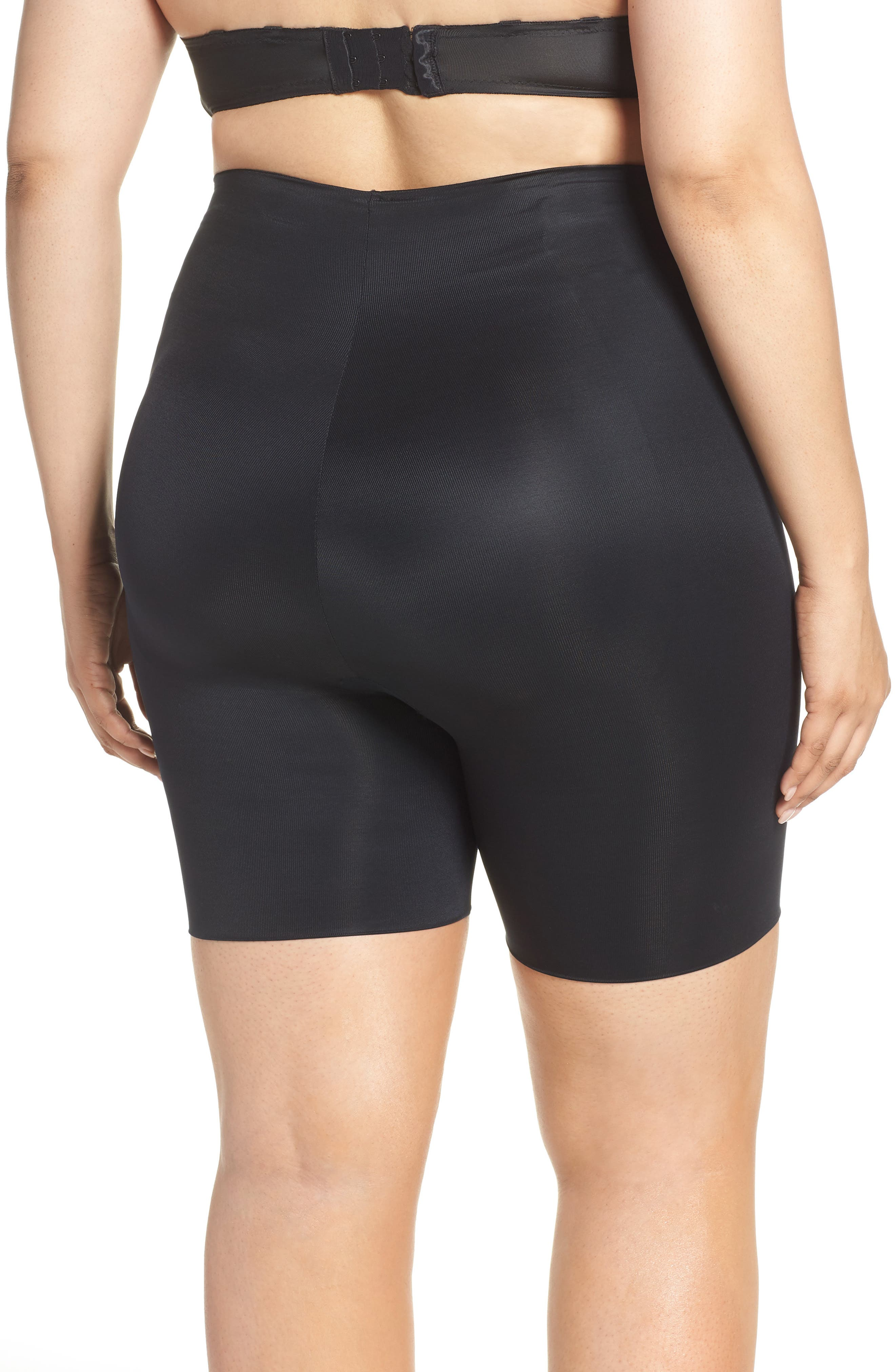 SPANX<SUP>®</SUP>,                             Suit Your Fancy Butt Enhancer Shorts,                             Alternate thumbnail 2, color,                             VERY BLACK