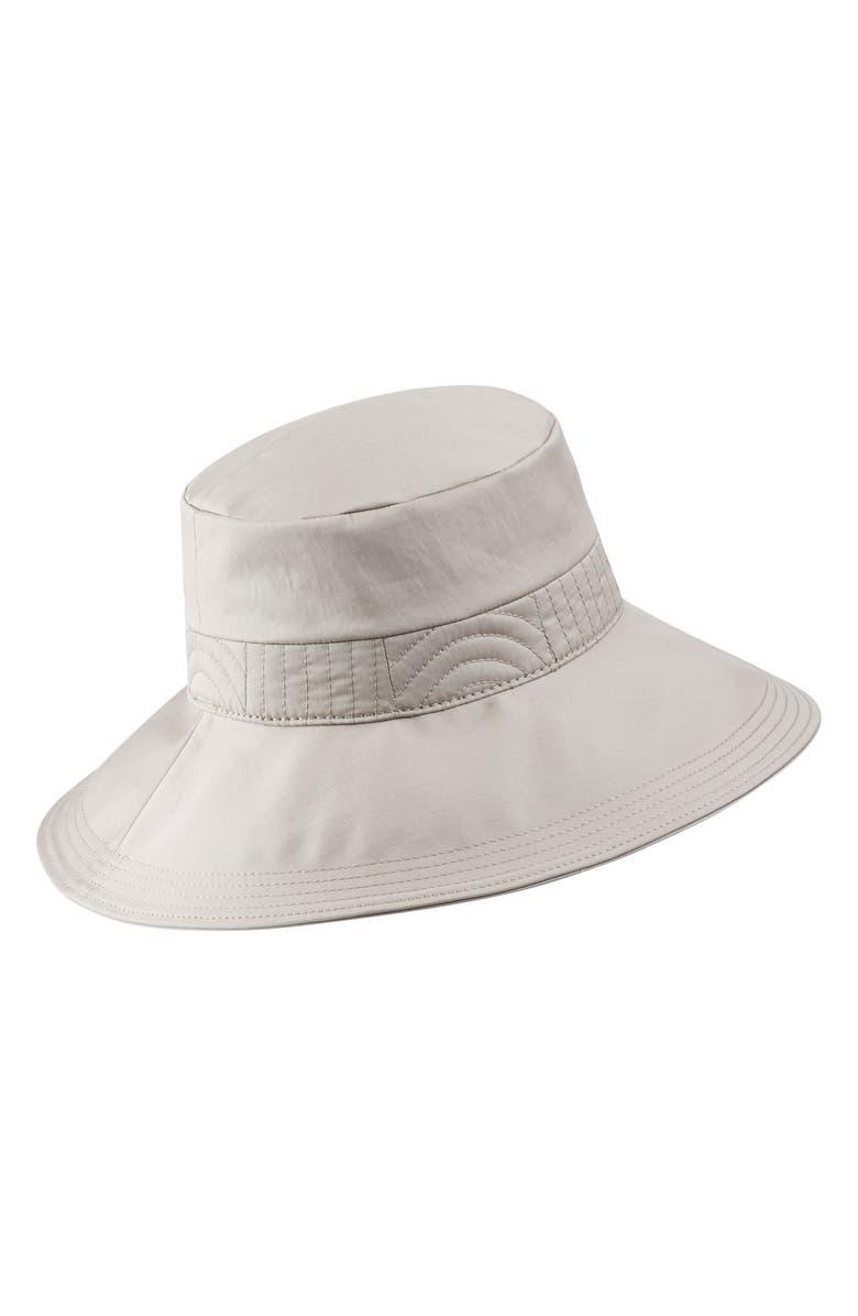 c36ddfc4ef745 Helen Kaminski Water Resistant Bucket Hat - Grey In Pebble