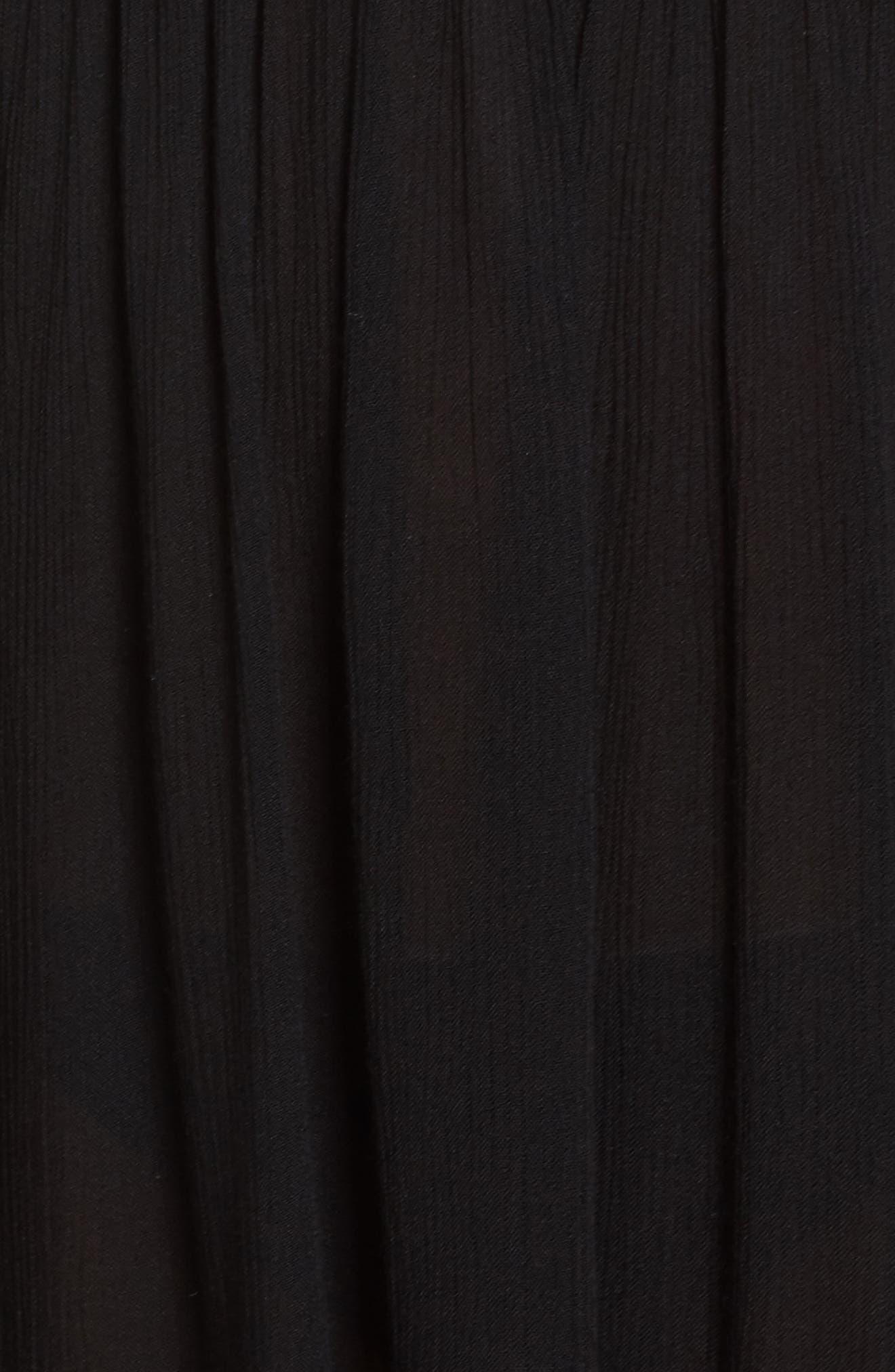 Goddess Cover-Up Dress,                             Alternate thumbnail 5, color,                             001