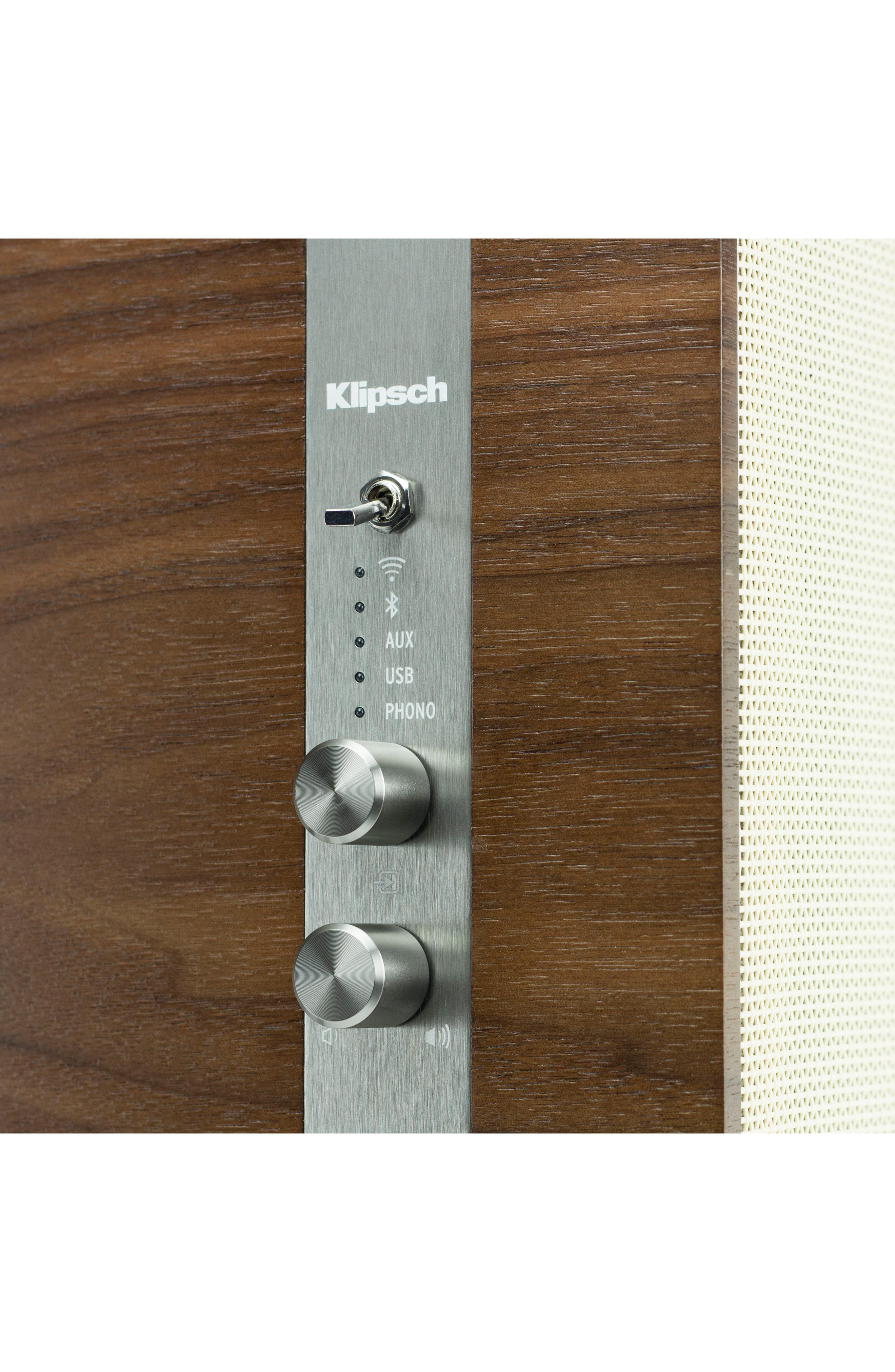 Klipsch The Capitol Three Bluetooth<sup>®</sup> Speaker,                             Alternate thumbnail 4, color,                             201