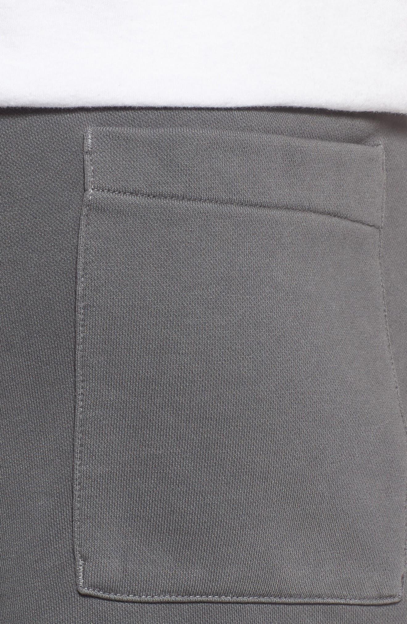 NSW Cotton Blend Shorts,                             Alternate thumbnail 4, color,                             010
