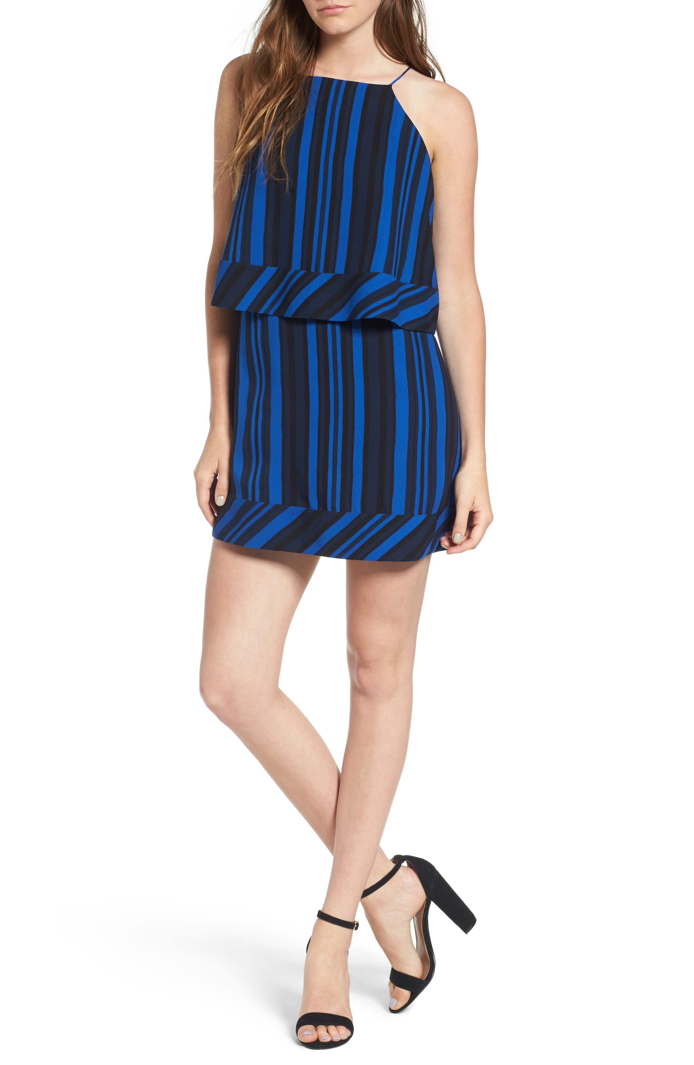 Callie Tiered Shift Dress,                         Main,                         color,