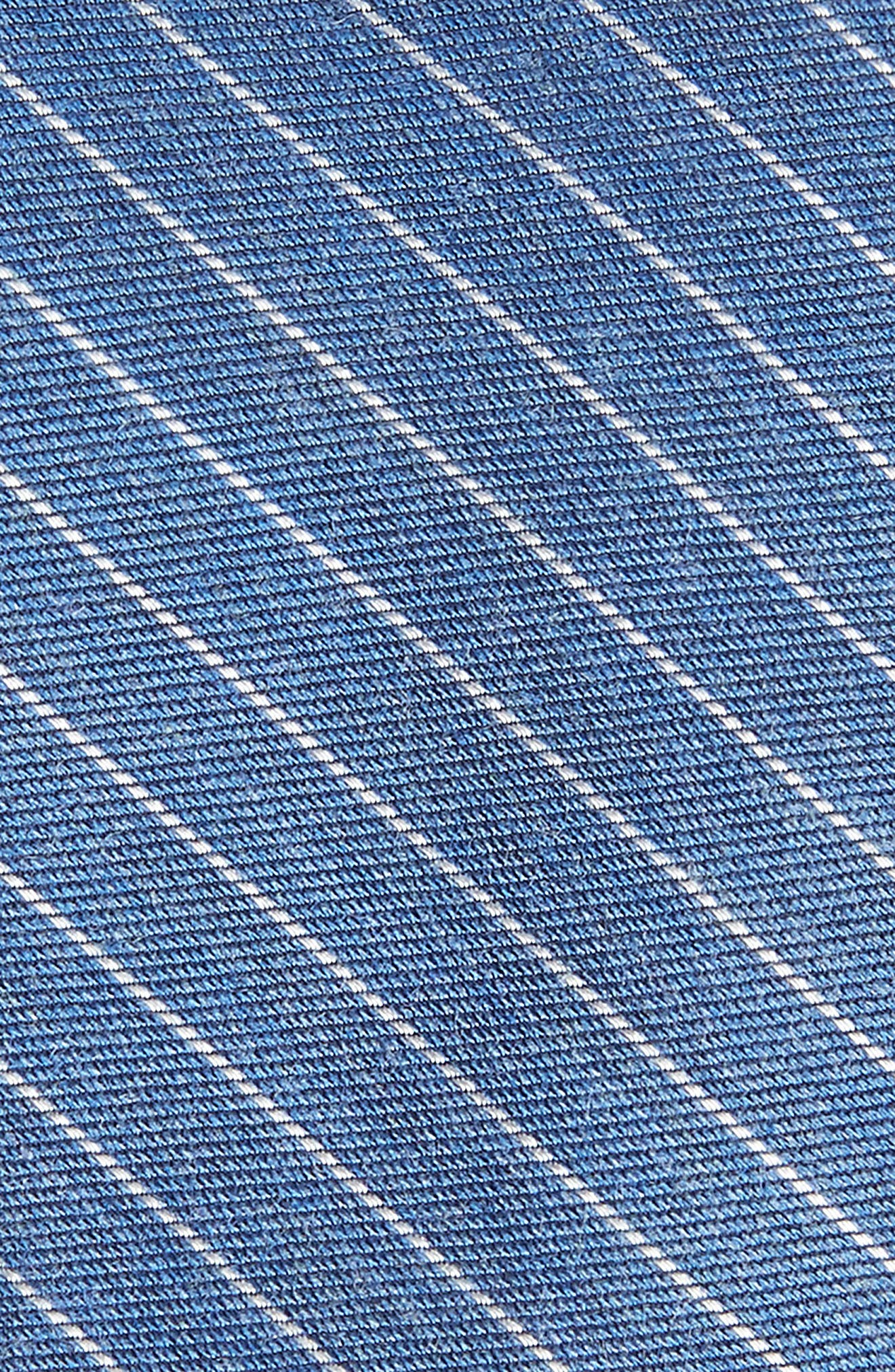 Stripe Silk Blend Skinny Tie,                             Alternate thumbnail 2, color,                             400