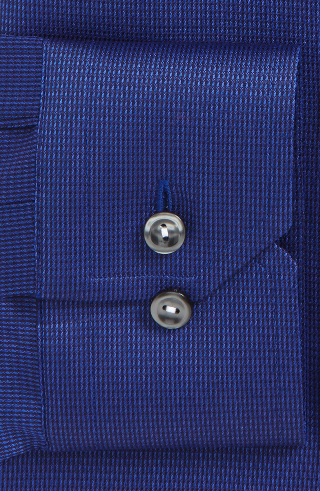 Contemporary Fit Solid Dress Shirt,                             Alternate thumbnail 3, color,