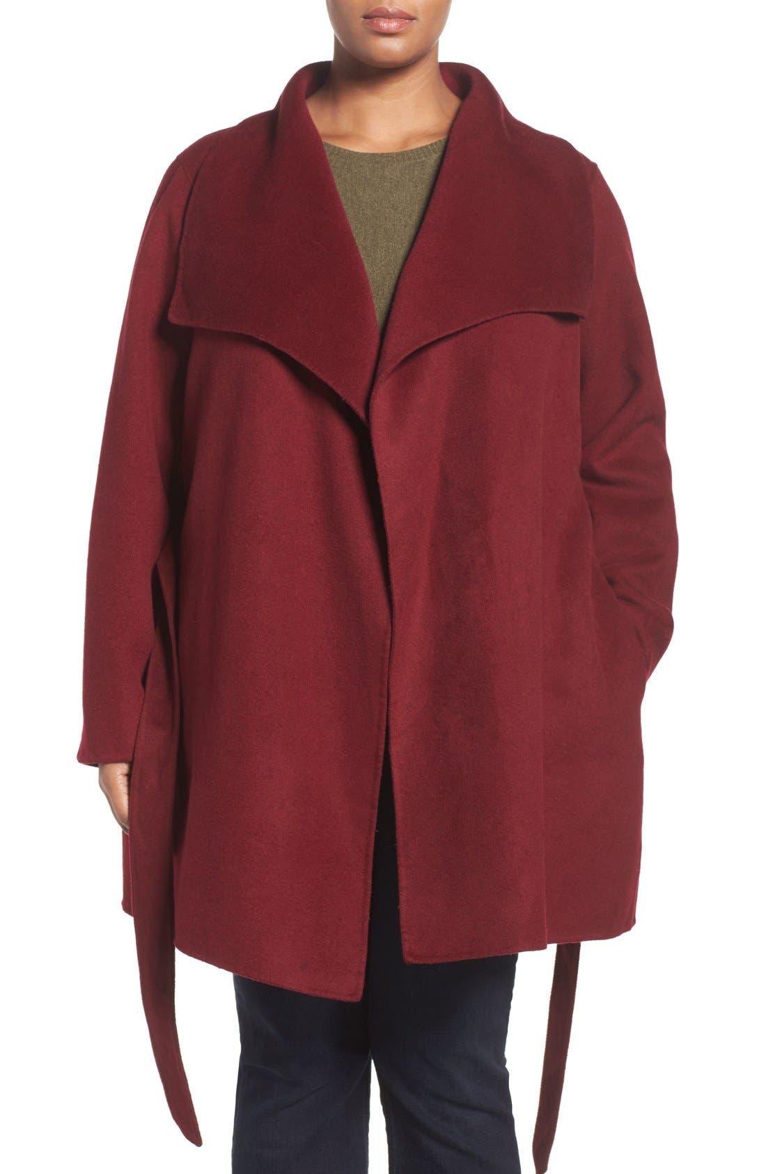 'Ella' Wrap Coat,                             Alternate thumbnail 15, color,