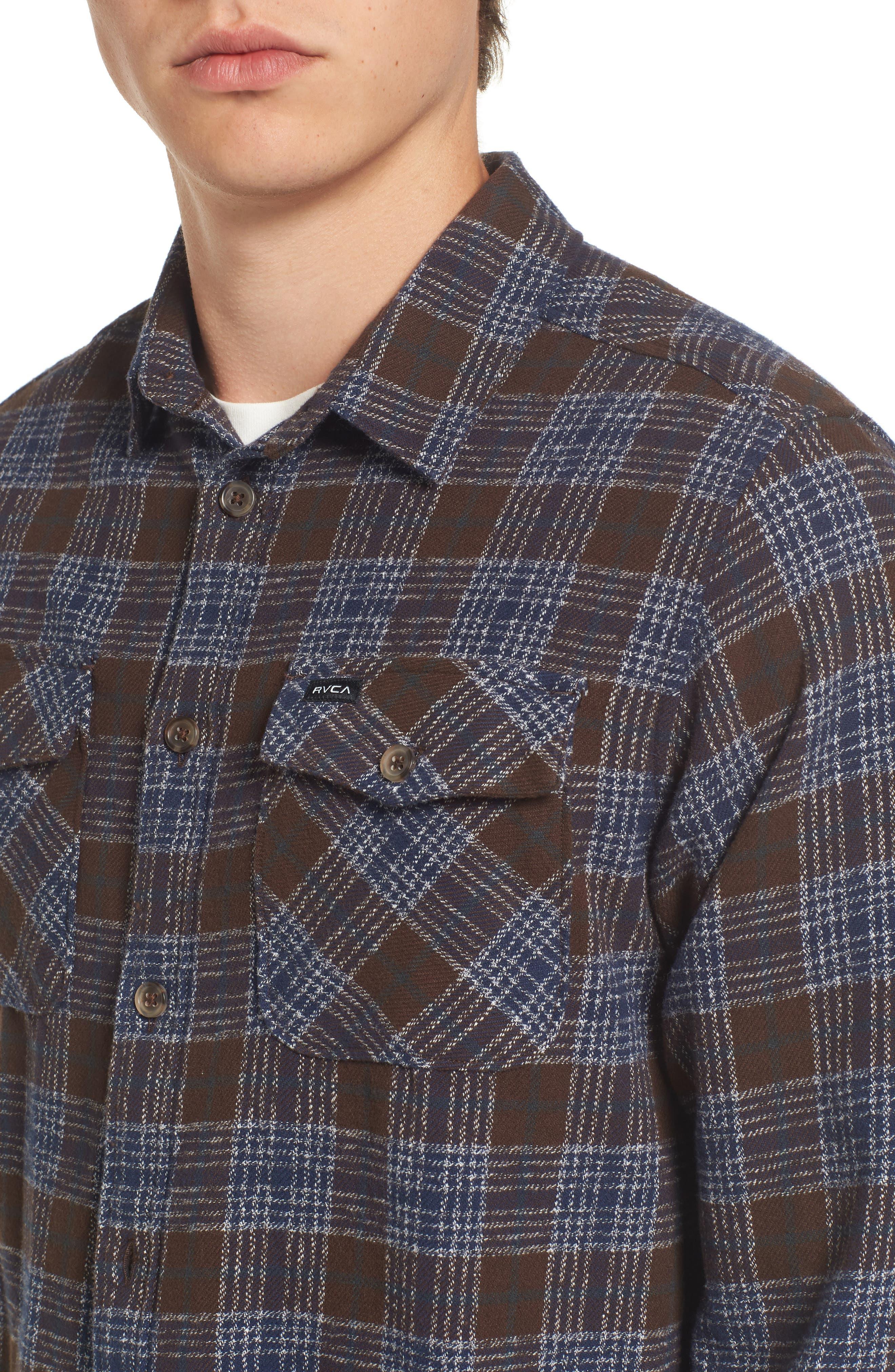 'That'll Work' Trim Fit Plaid Flannel Shirt,                             Alternate thumbnail 26, color,