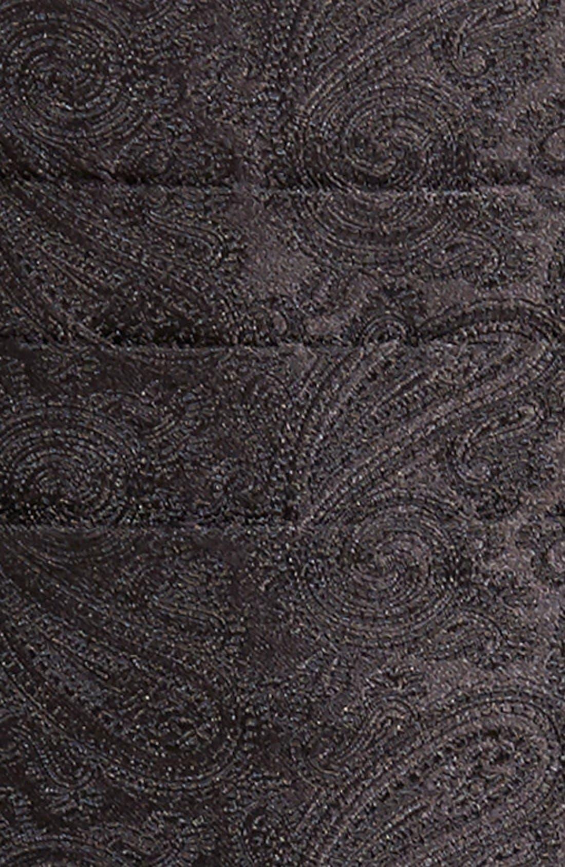 'Protocol' Paisley Silk Cummerbund & Bow Tie Set,                             Alternate thumbnail 6, color,