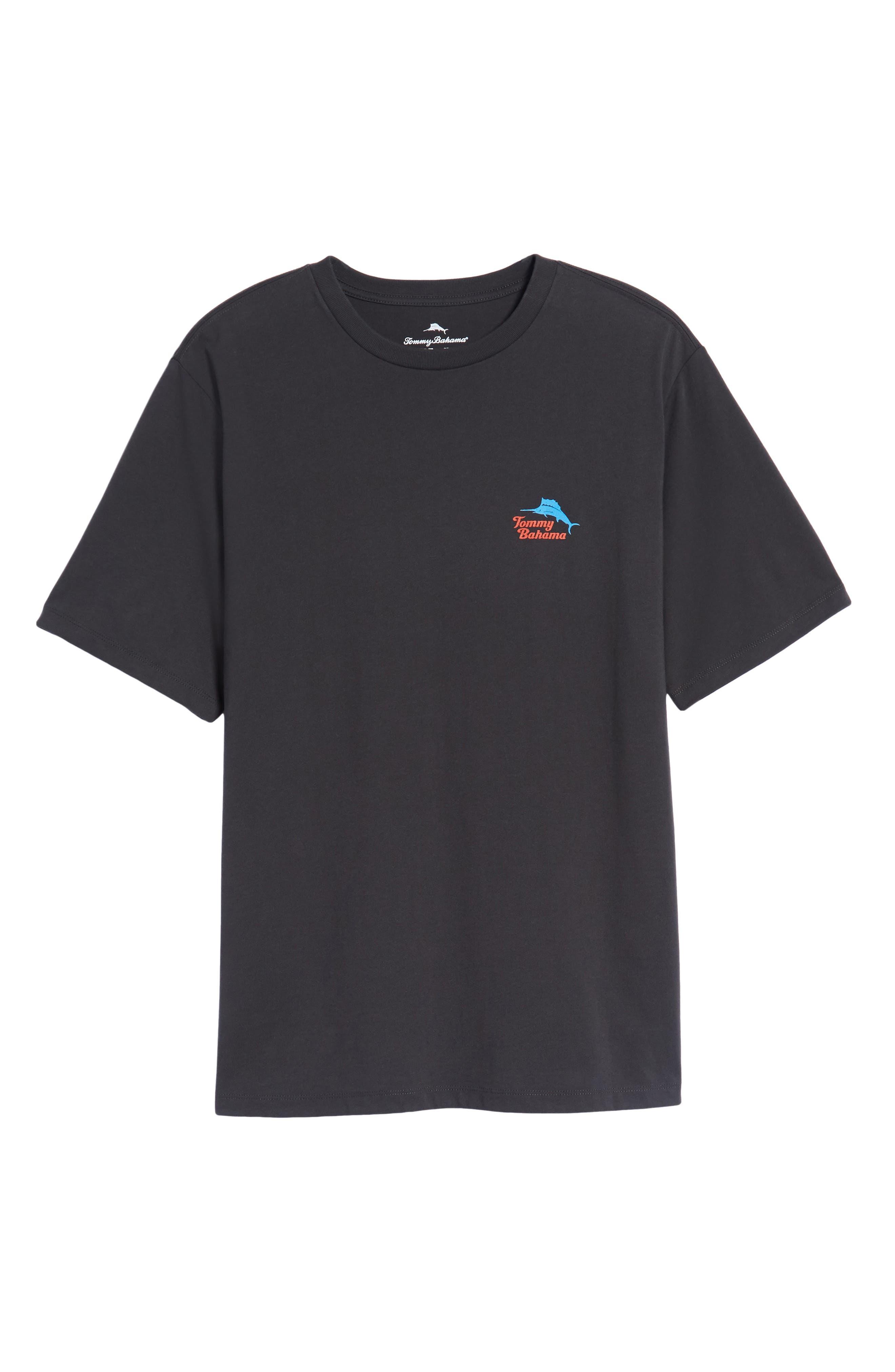 Bands Back T-Shirt,                             Alternate thumbnail 6, color,                             001