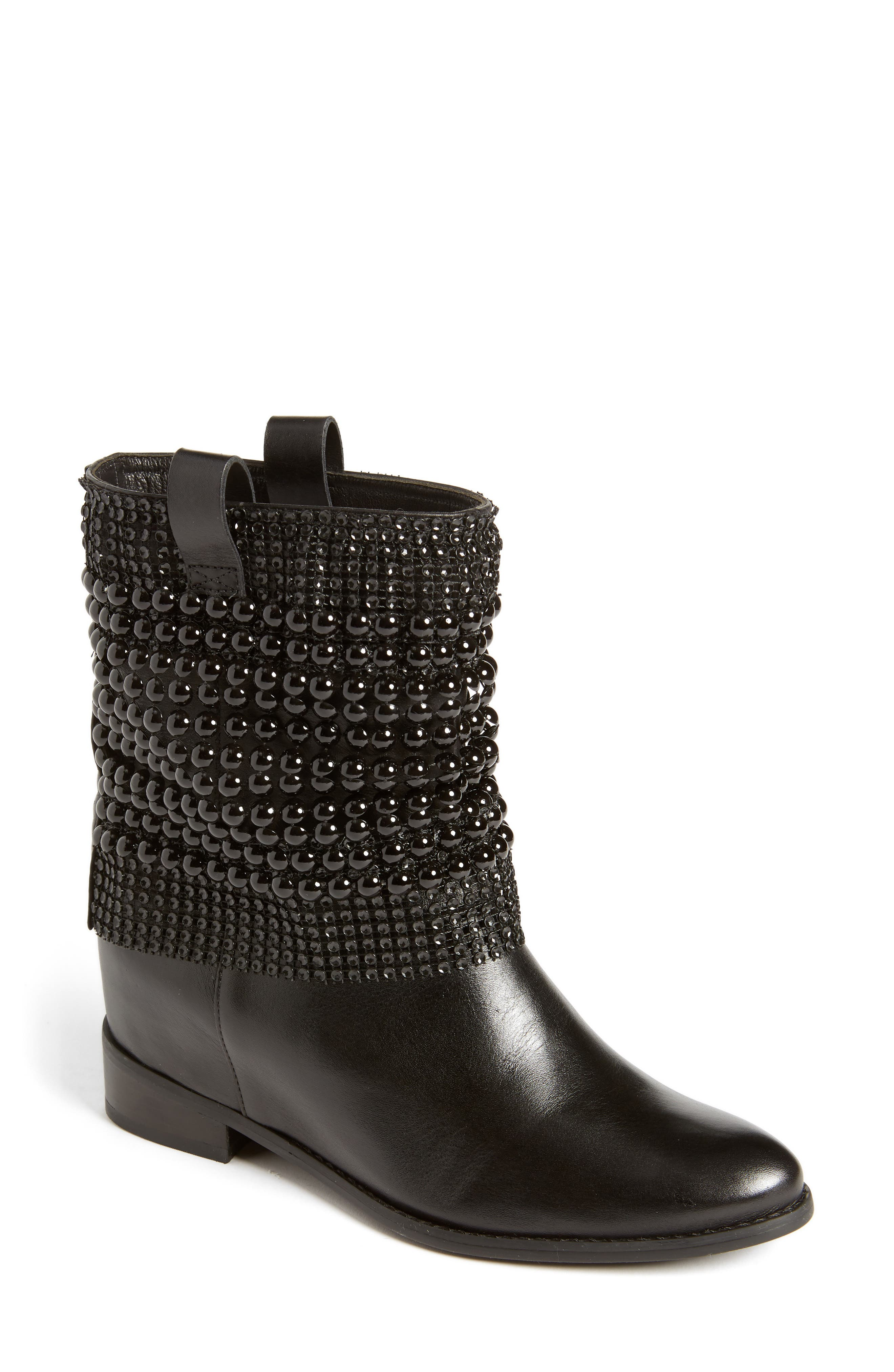 Annik Hidden Wedge Boot,                         Main,                         color, 001