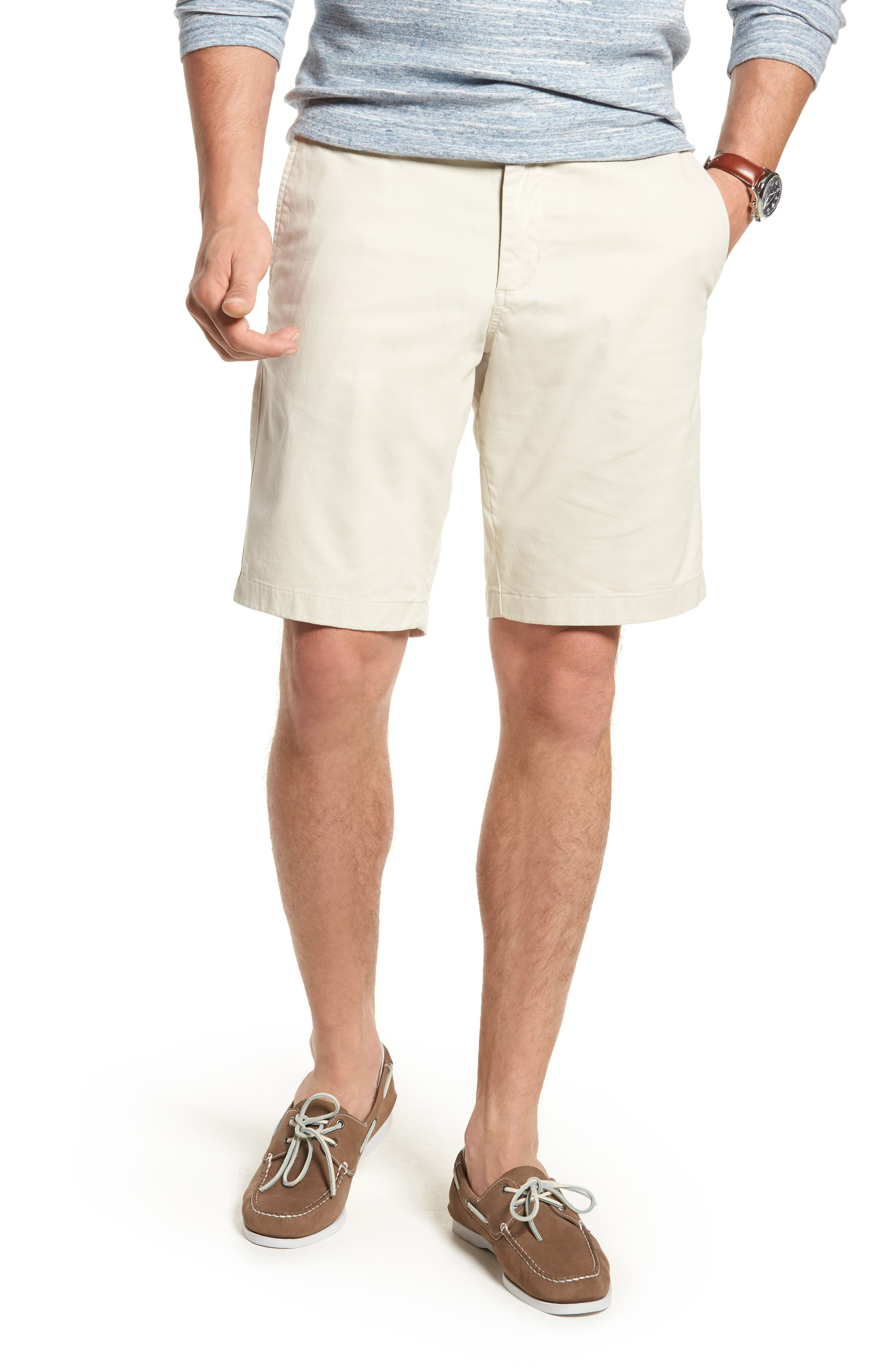 Ballard Slim Fit Stretch Chino 11-Inch Shorts,                             Main thumbnail 6, color,