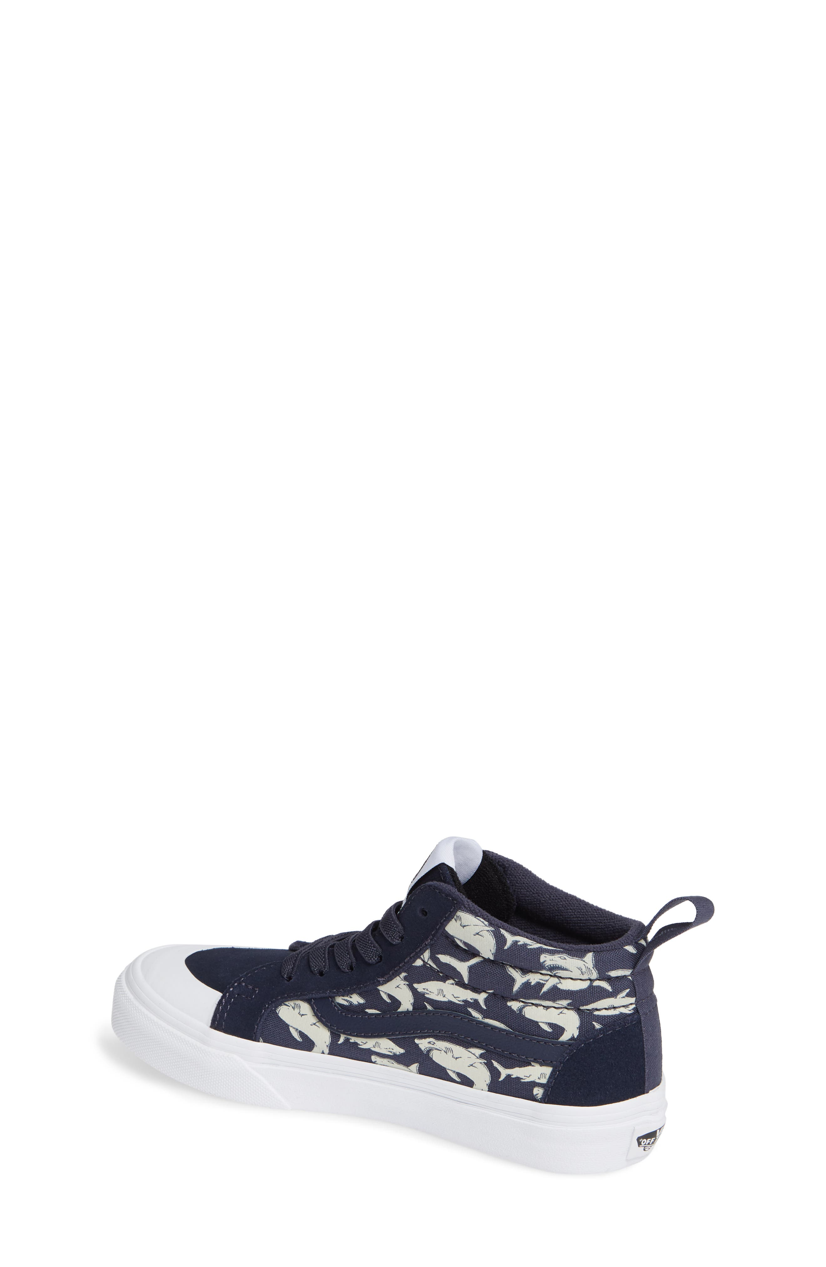 Racer Mid Elastic Lace Sneaker,                             Alternate thumbnail 12, color,