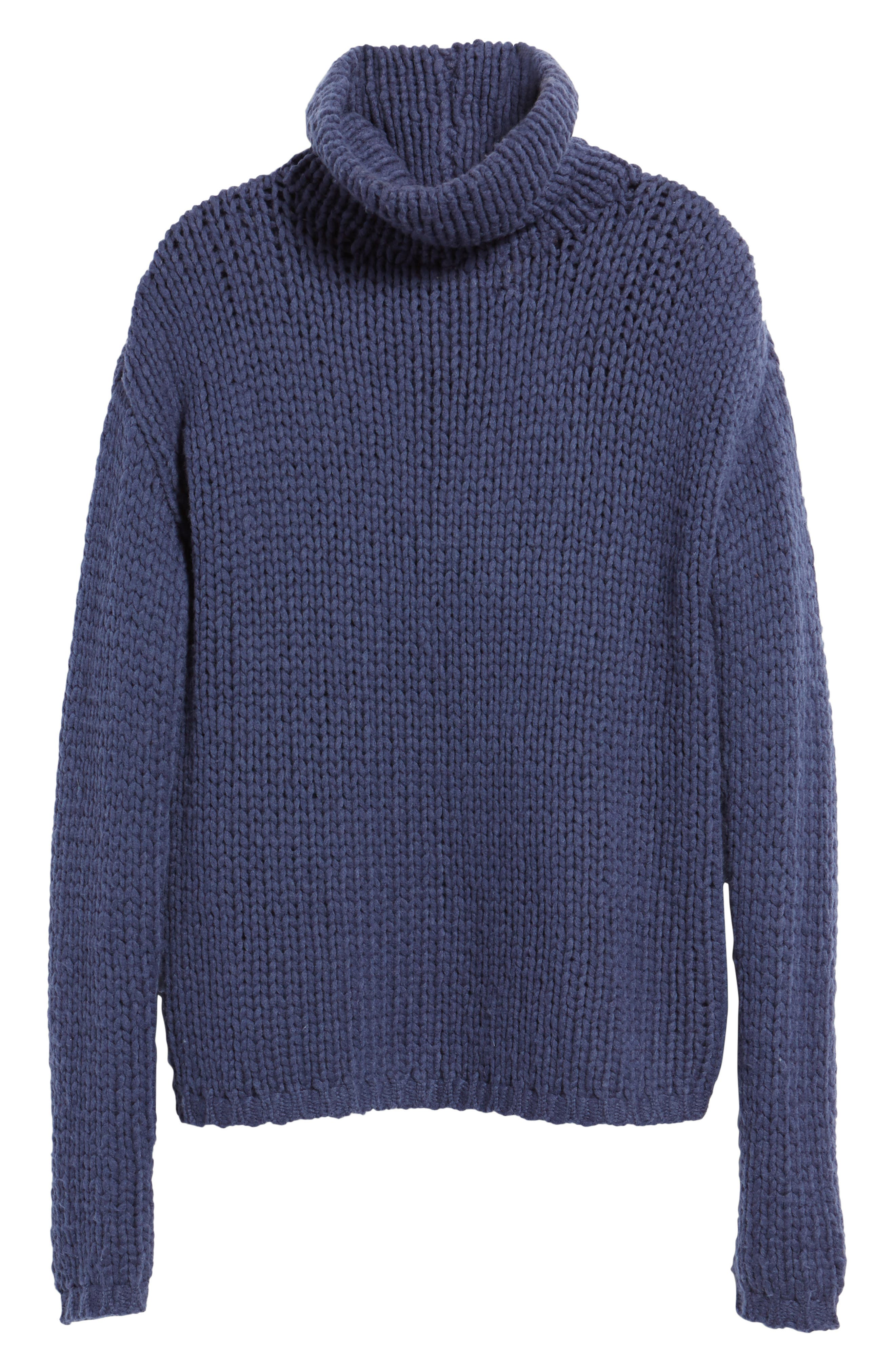 Hawken Turtleneck Sweater,                             Alternate thumbnail 6, color,                             400