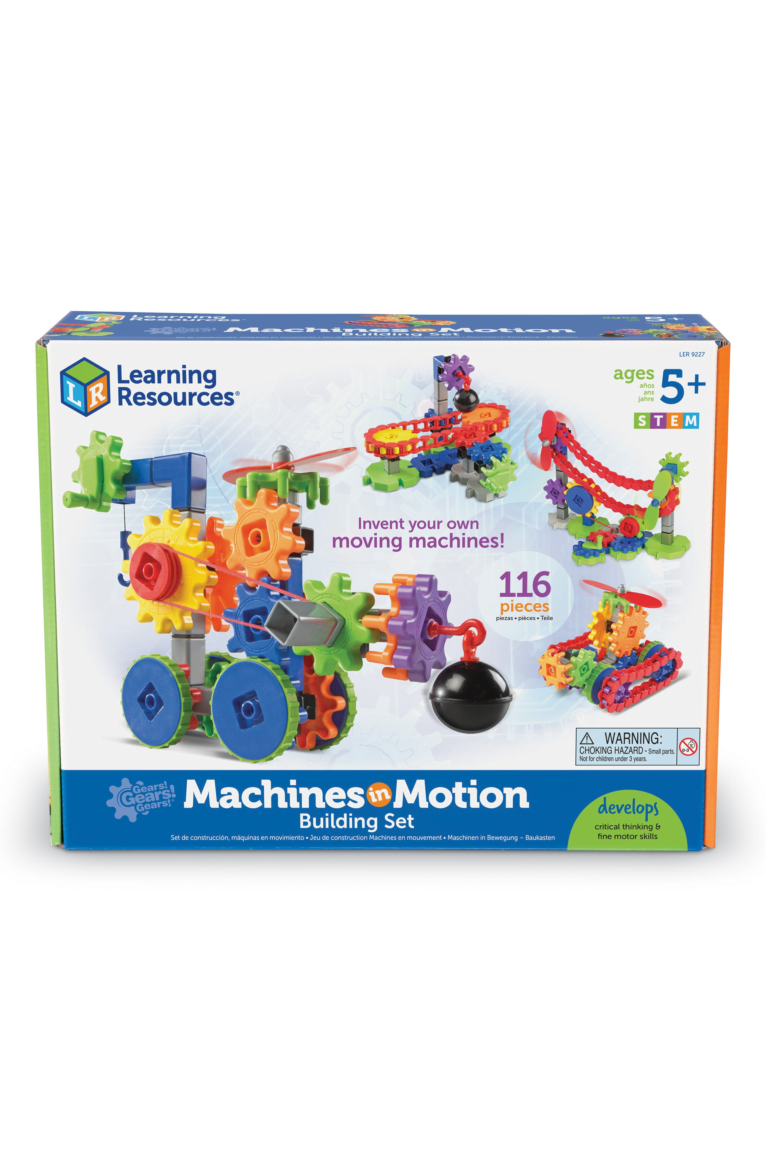 Gears! Gears! Gears!<sup>®</sup> Machines in Motion<sup>™</sup> Building Set,                             Main thumbnail 1, color,                             MULTI