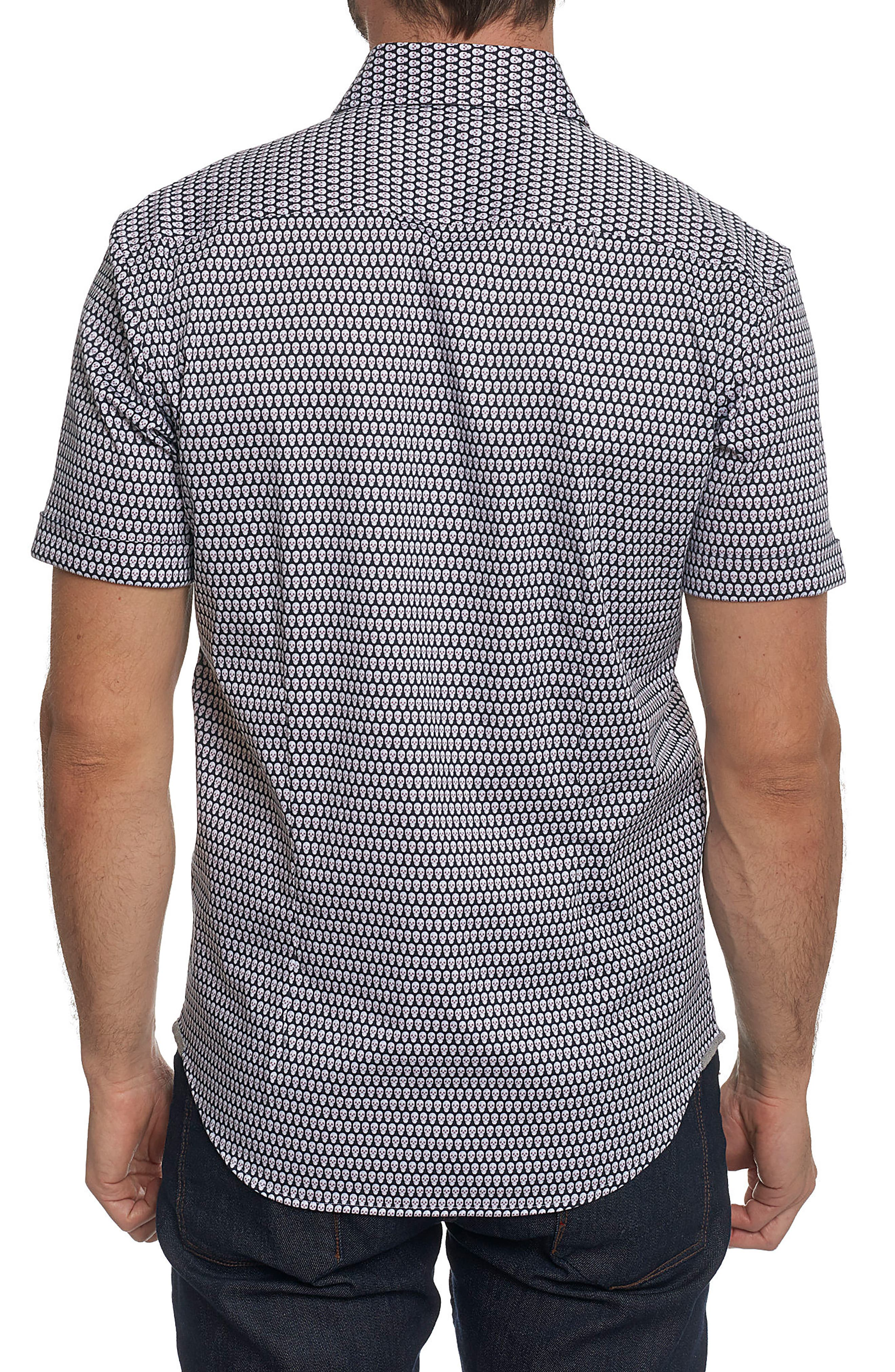 Woven Sport Shirt,                             Alternate thumbnail 2, color,                             001