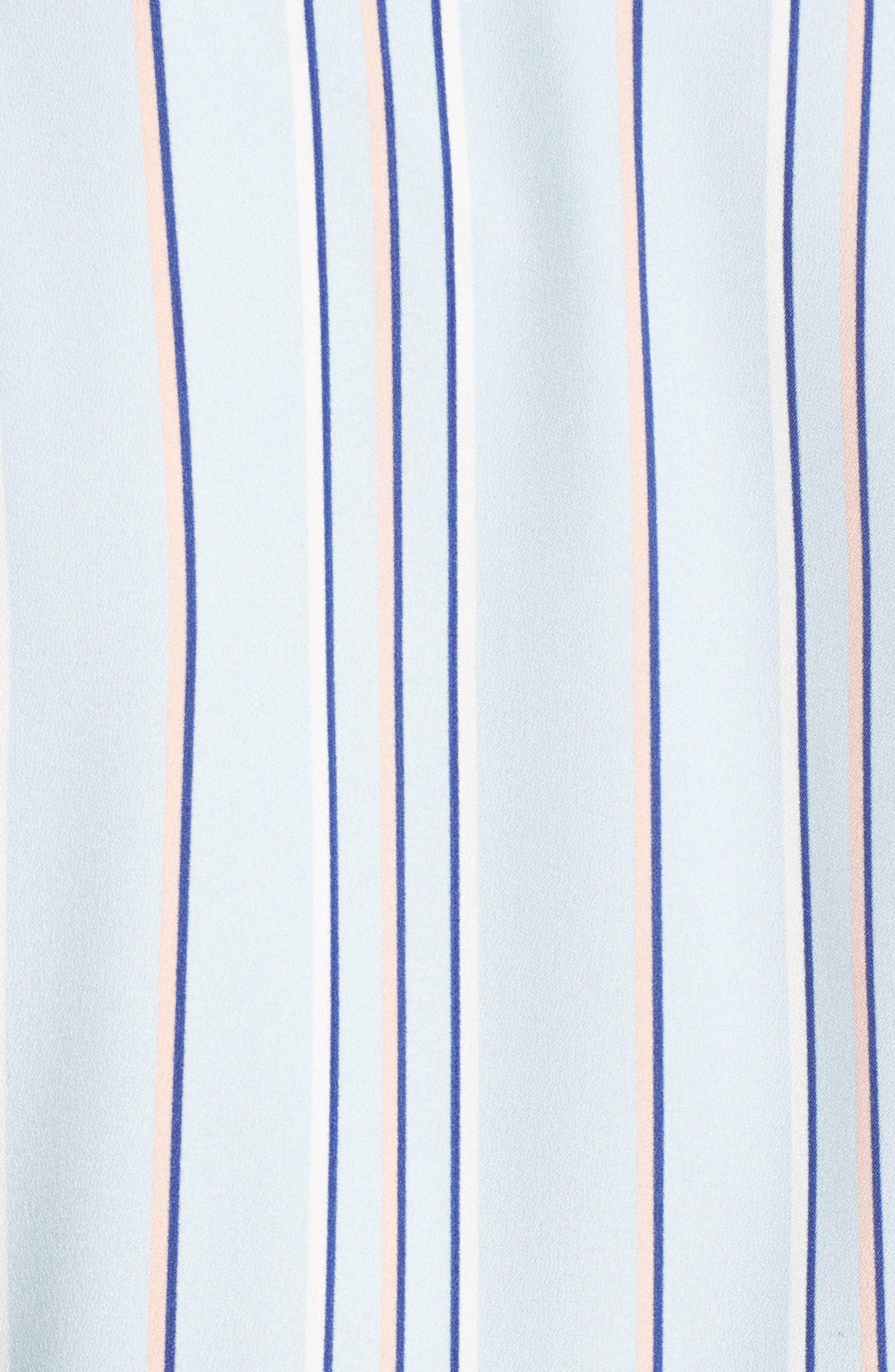 Stripe Shirtdress,                             Alternate thumbnail 5, color,