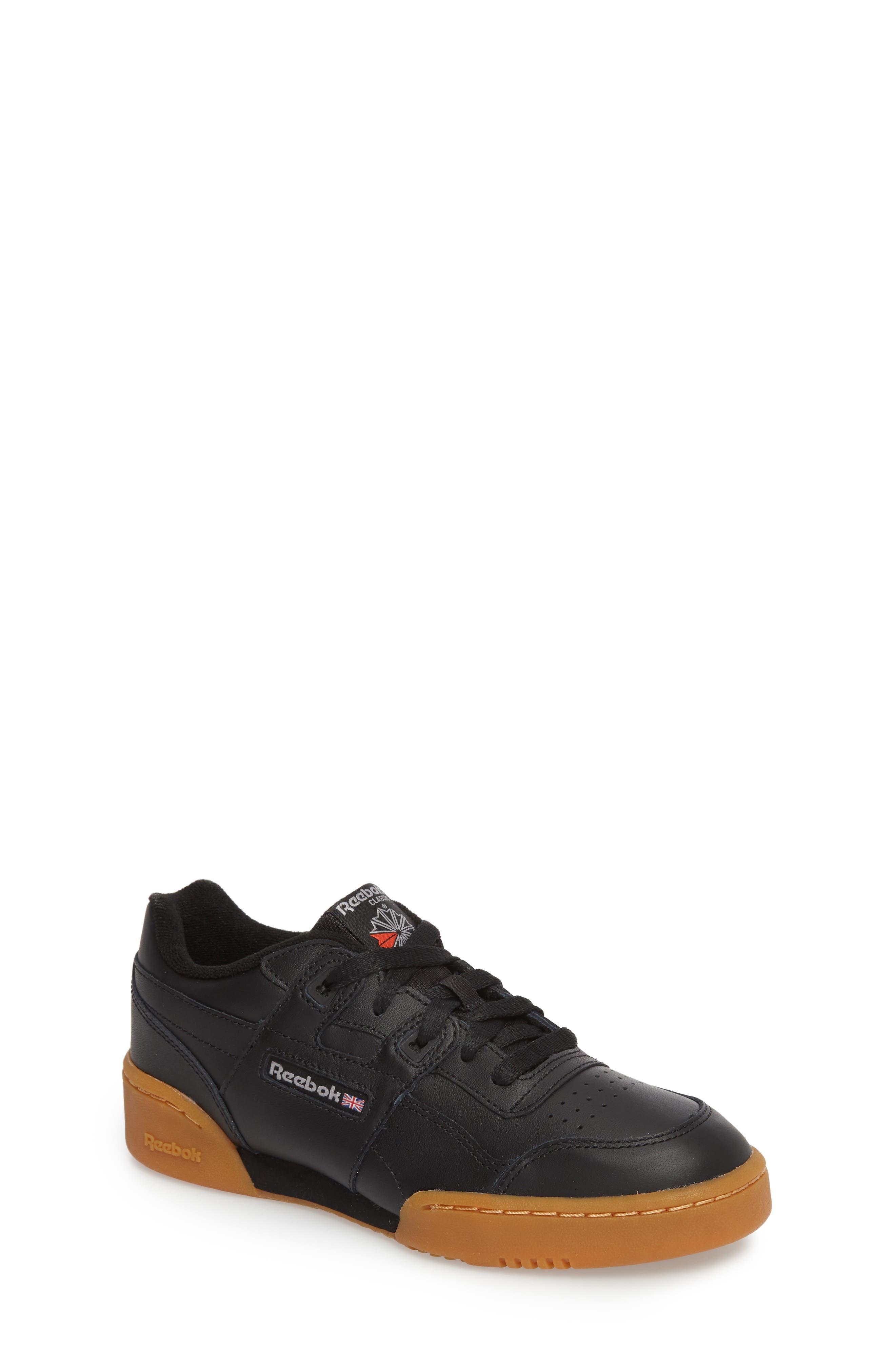 Workout Plus Sneaker,                             Main thumbnail 1, color,                             BLACK