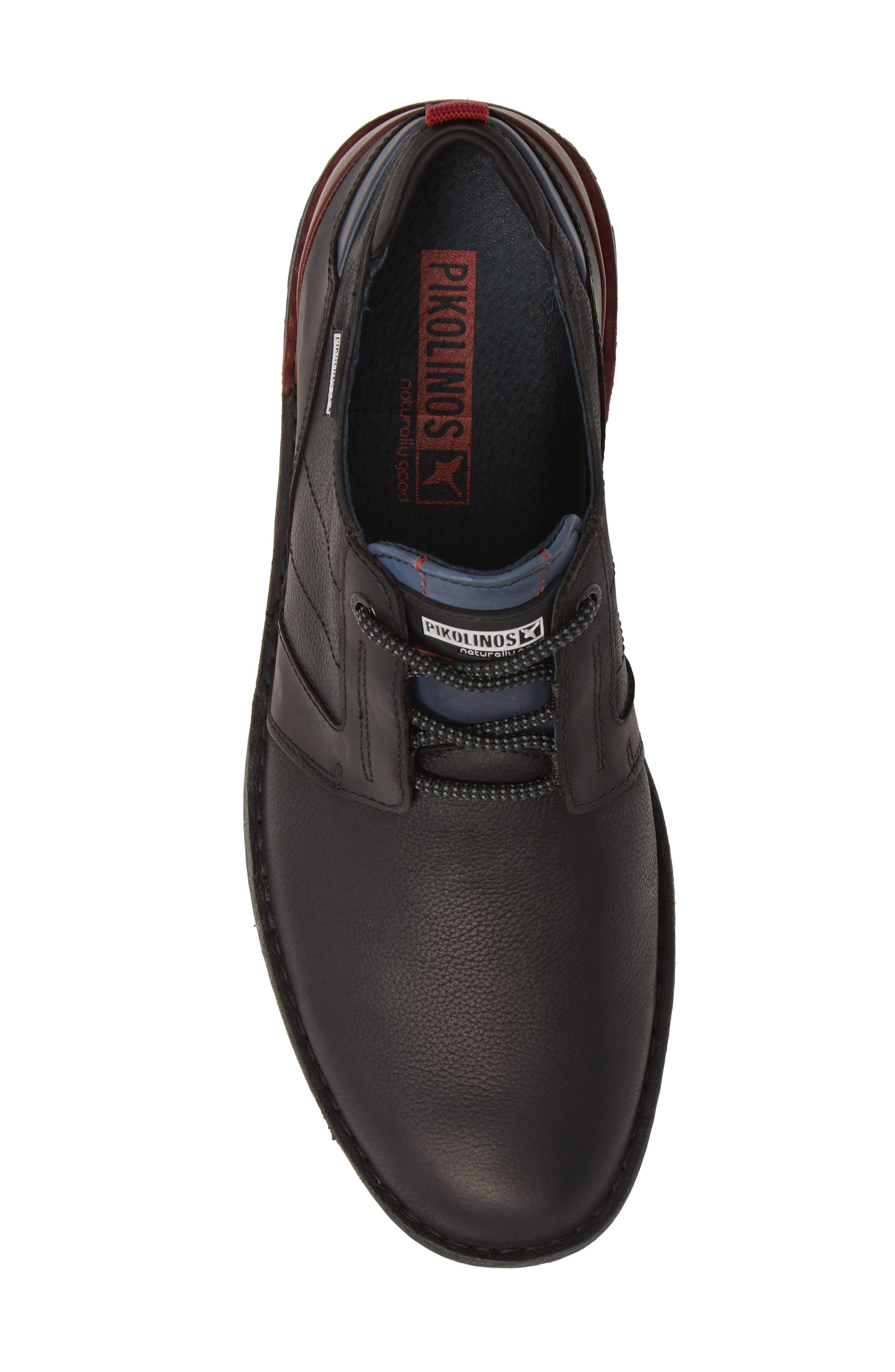 Tudela Plain Toe Derby,                             Alternate thumbnail 5, color,                             BLACK BLACK