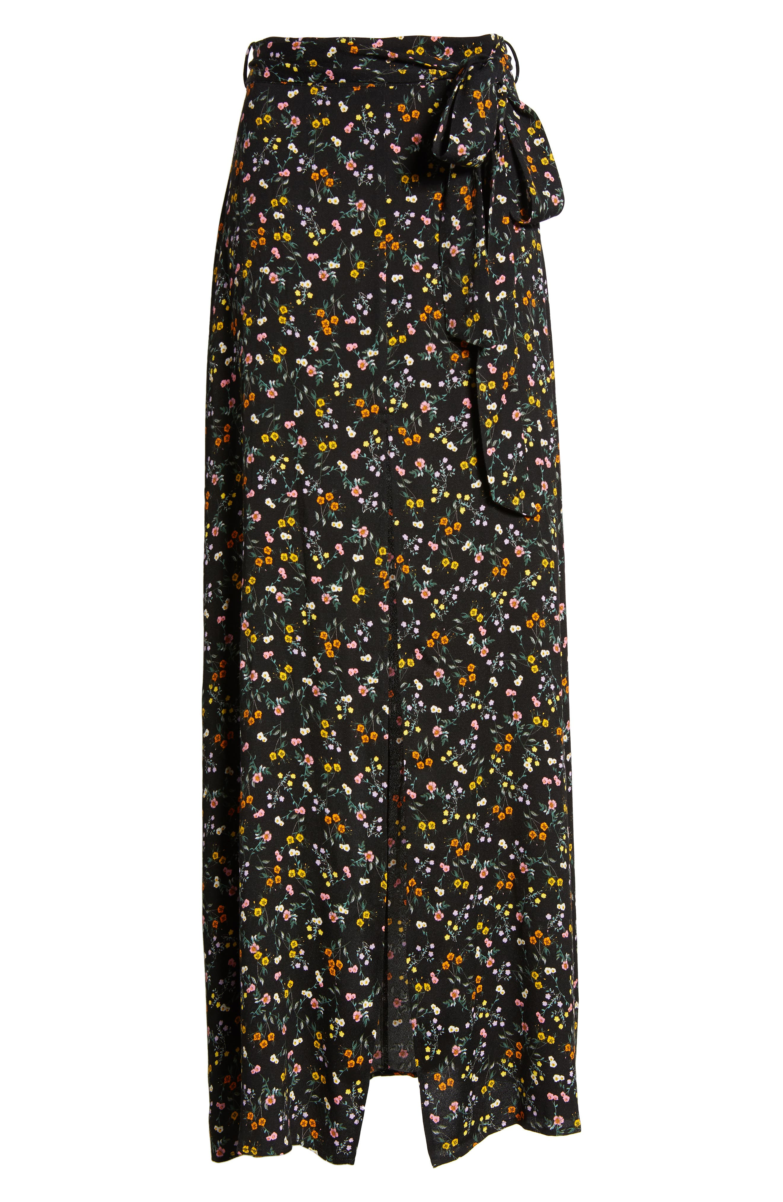 Alessandra Maxi Skirt,                             Alternate thumbnail 6, color,                             001