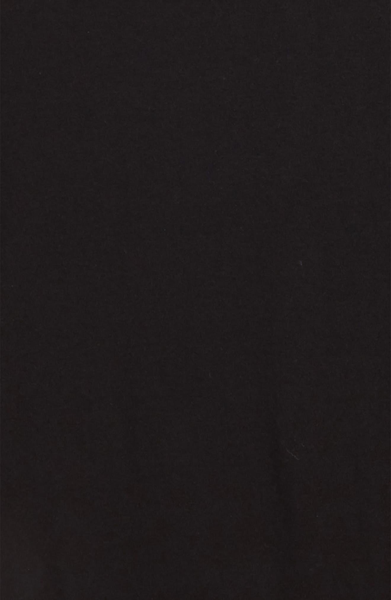 Teagan Roll Cuff Tee,                             Alternate thumbnail 2, color,                             BLACK