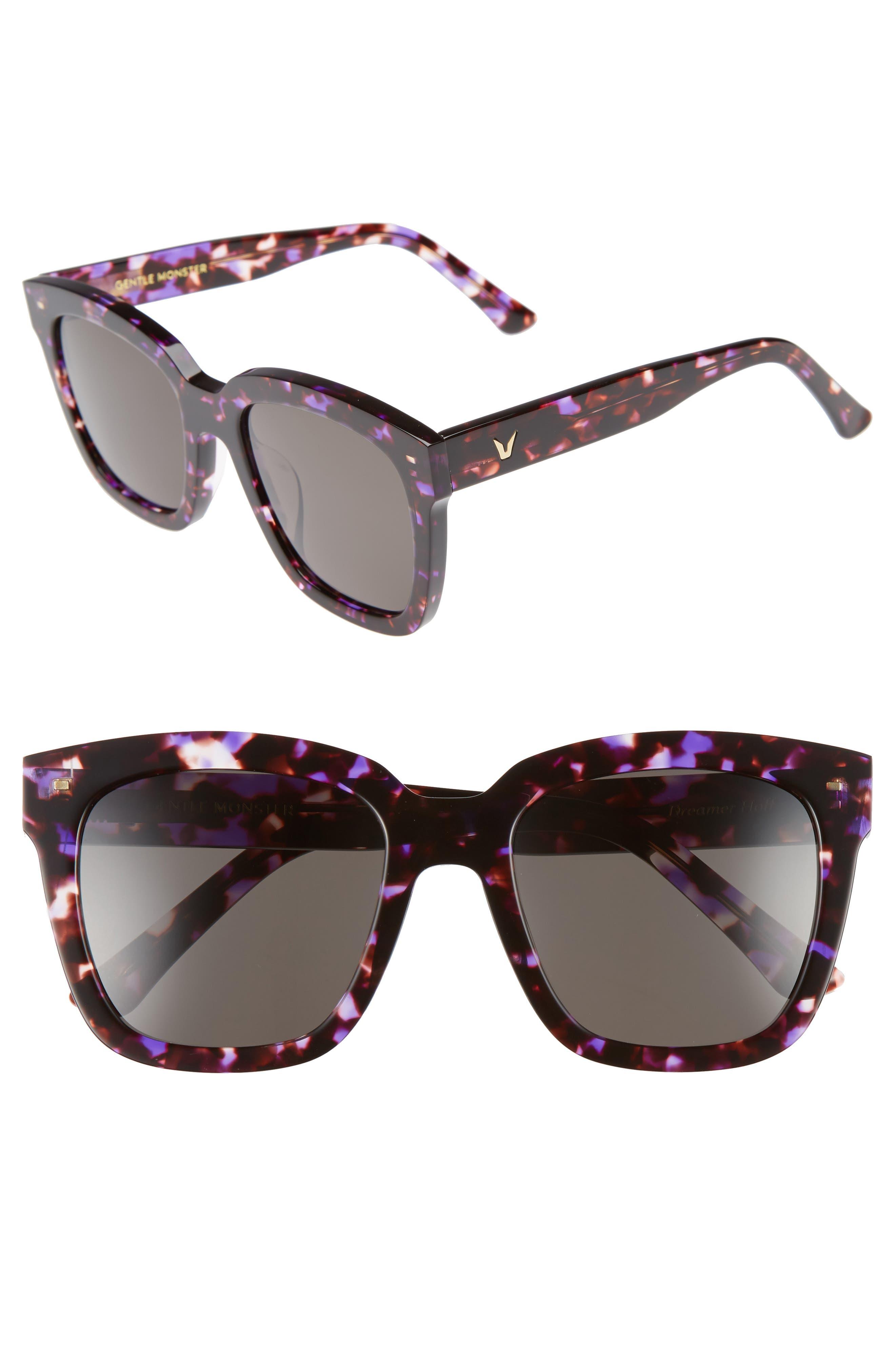 Dreamer Hoff 54mm Sunglasses,                             Main thumbnail 3, color,