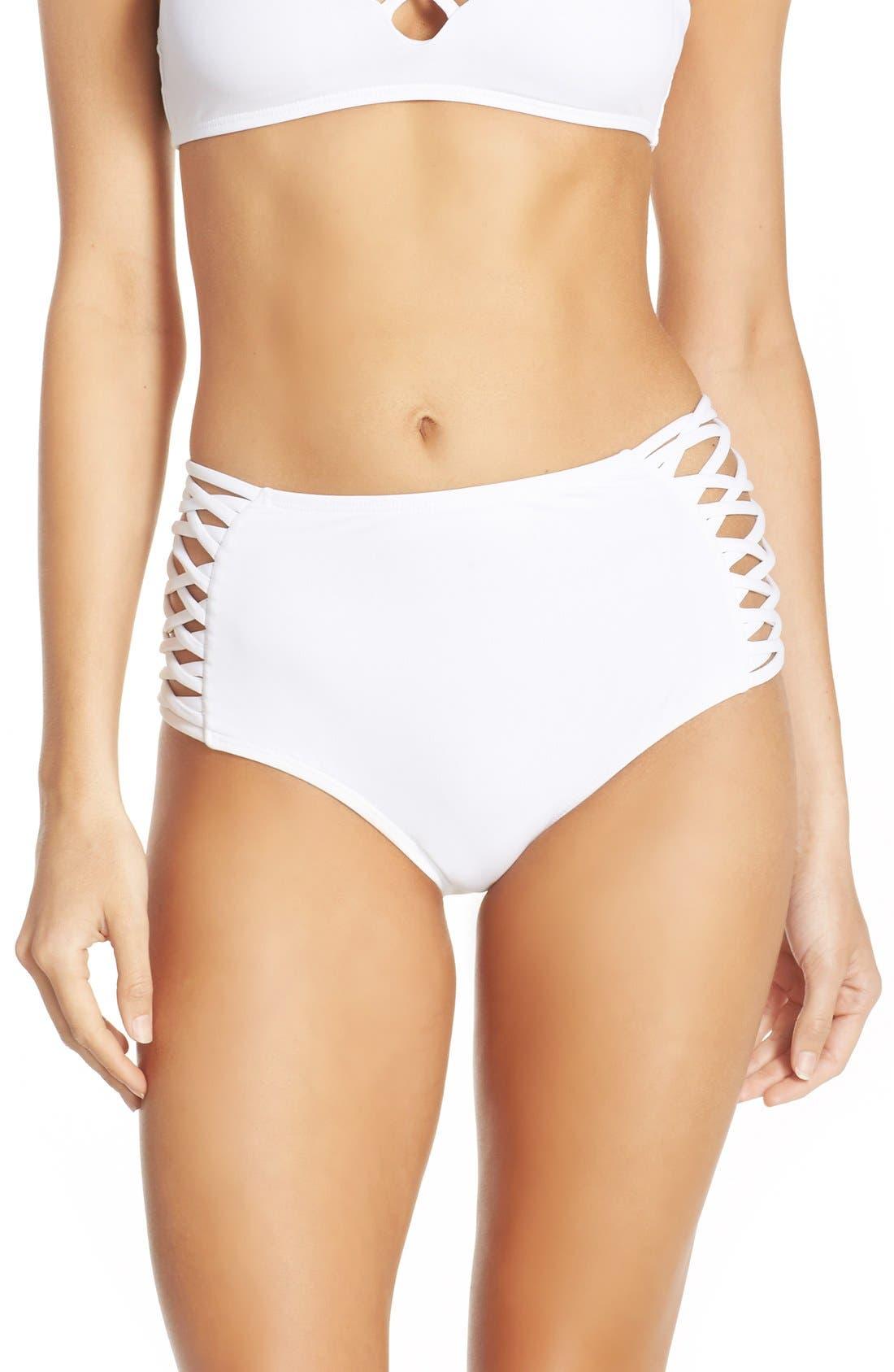 Tigress Classic High Waist Bikini Bottoms,                             Main thumbnail 2, color,