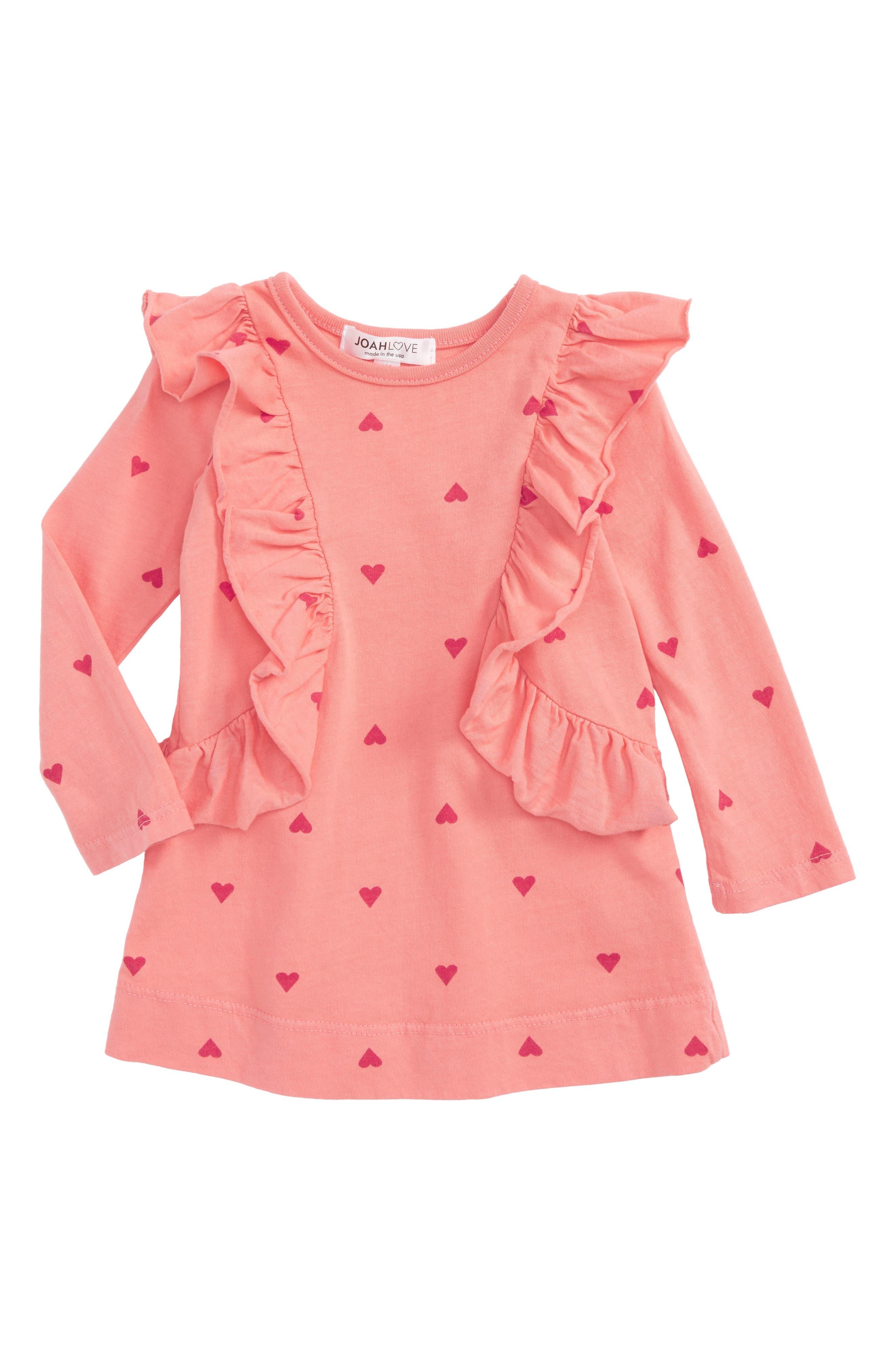 Ruffle Dress,                         Main,                         color, 650
