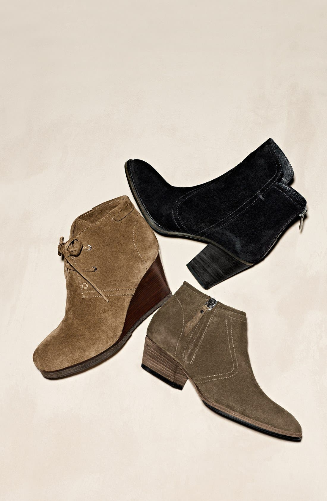 'Mirren' Wedge Bootie,                             Alternate thumbnail 5, color,                             002