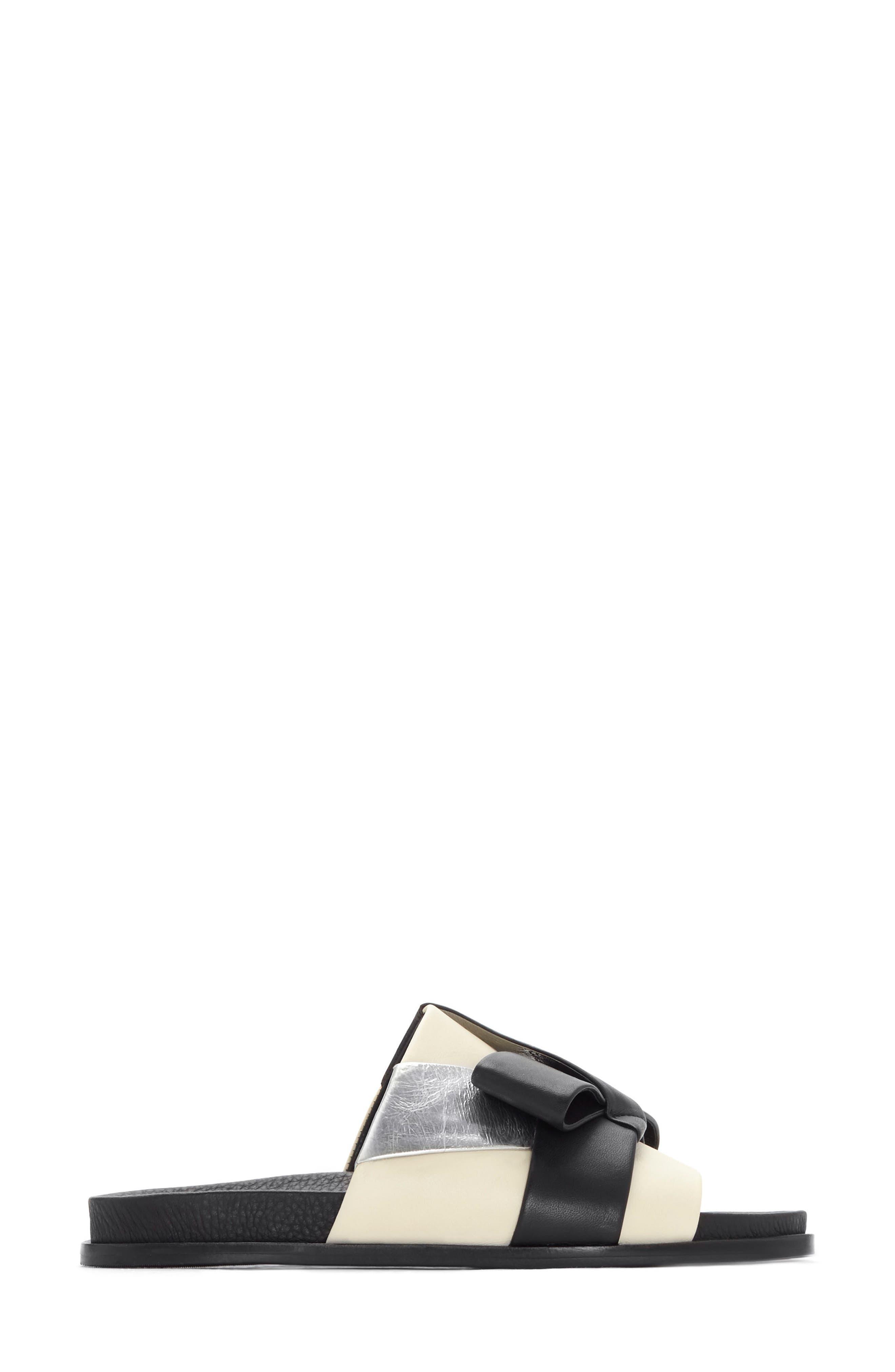 Dafne Slide Sandal,                             Alternate thumbnail 2, color,                             001