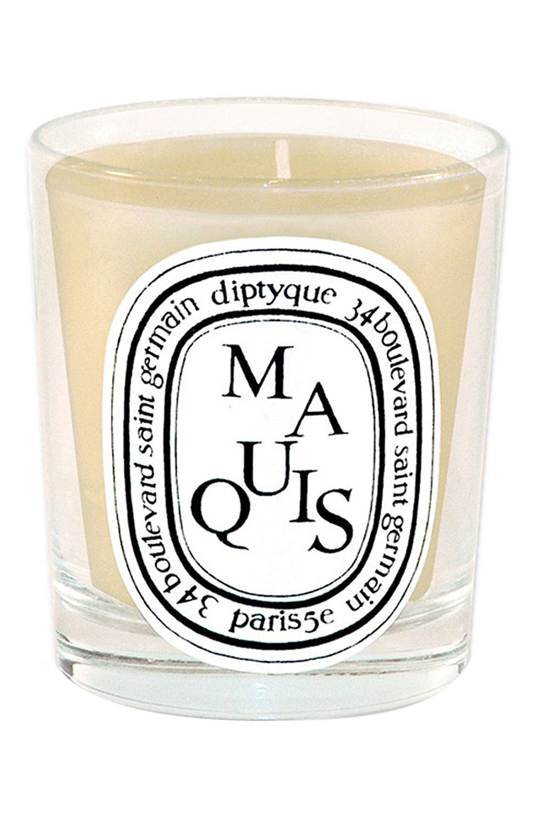 'Maquis' Scented Candle, Main, color, 000