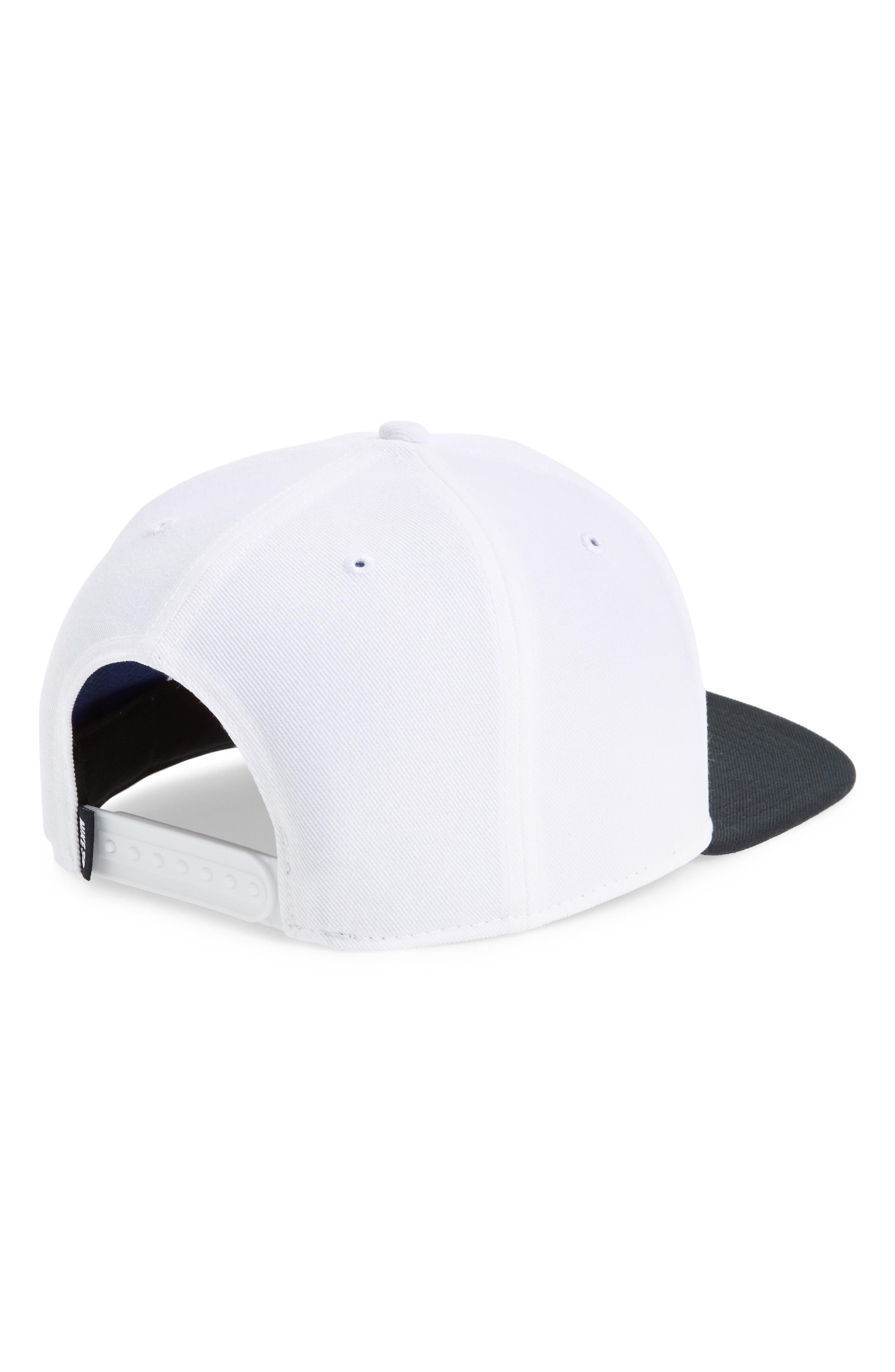 Nike Pro Snapback Baseball Cap,                             Alternate thumbnail 4, color,