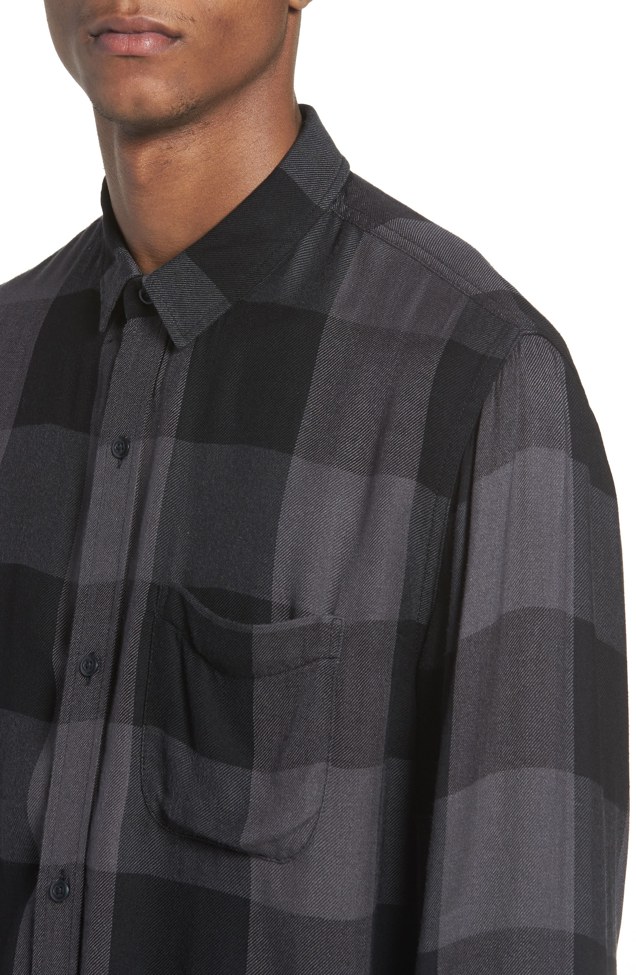 Yarn Dyed Plaid Shirt,                             Alternate thumbnail 7, color,