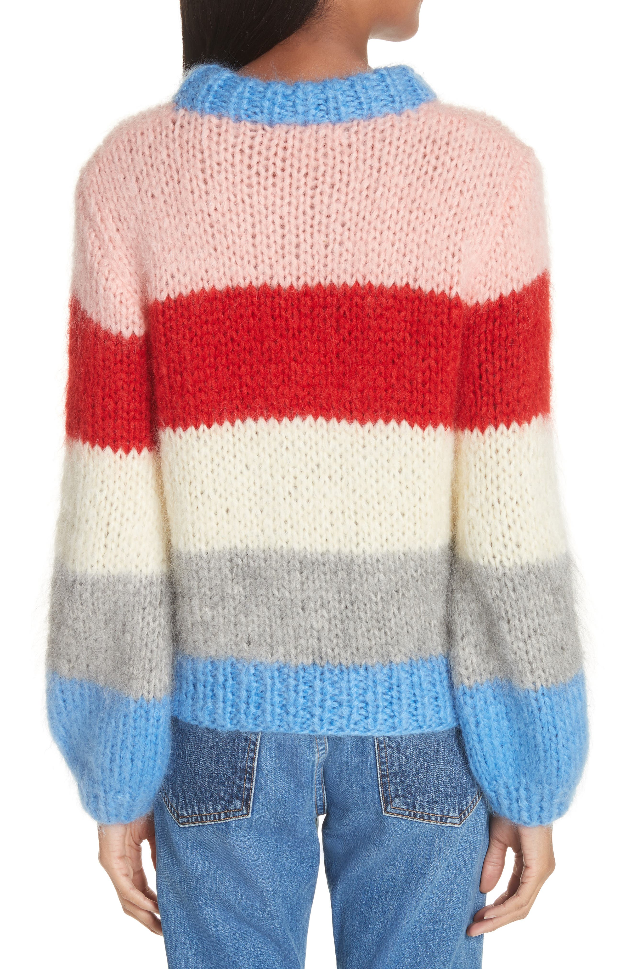 Julliard Multistripe Sweater,                             Alternate thumbnail 2, color,                             400
