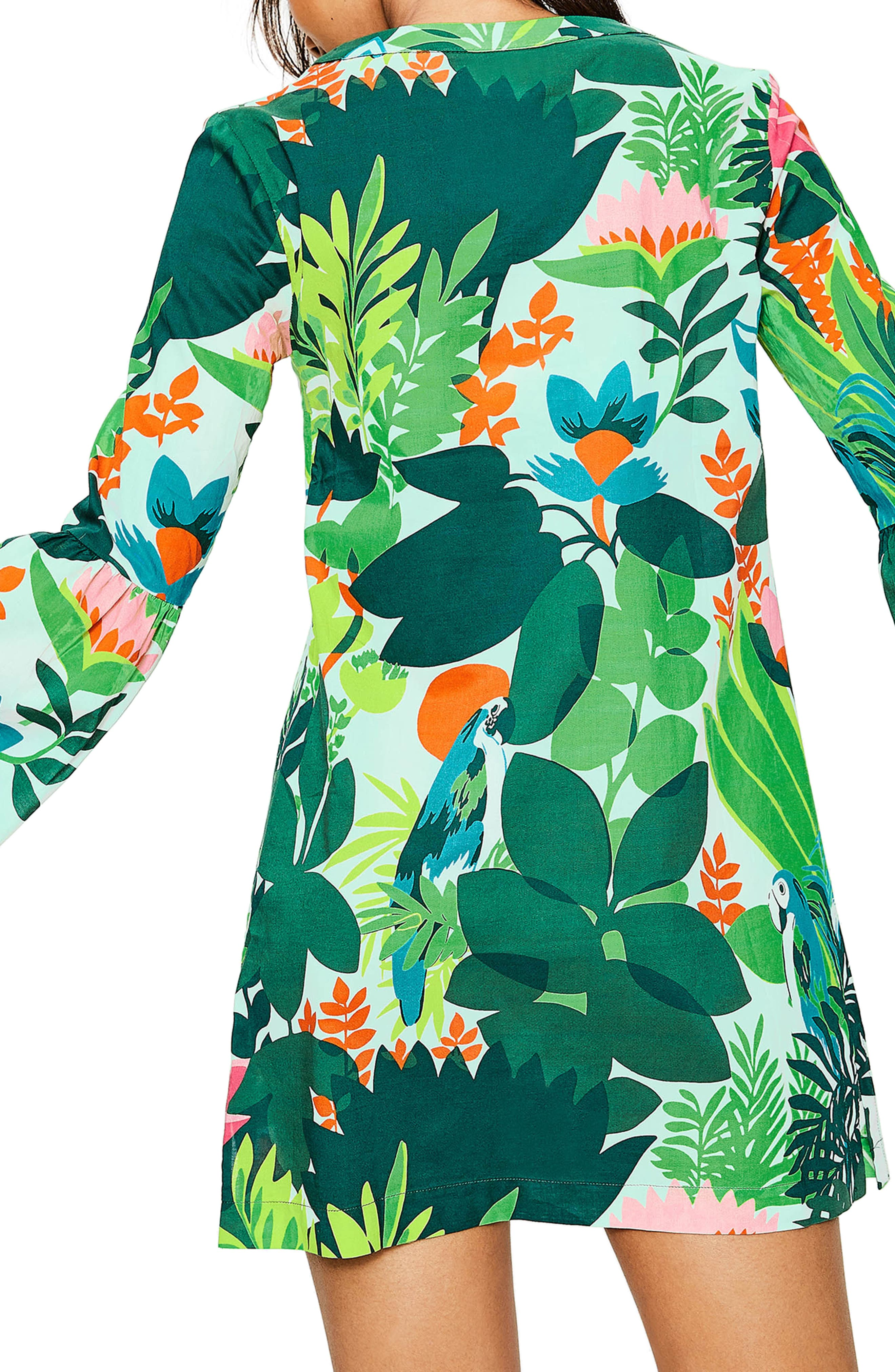 Jodie Caftan Dress,                             Alternate thumbnail 2, color,                             391
