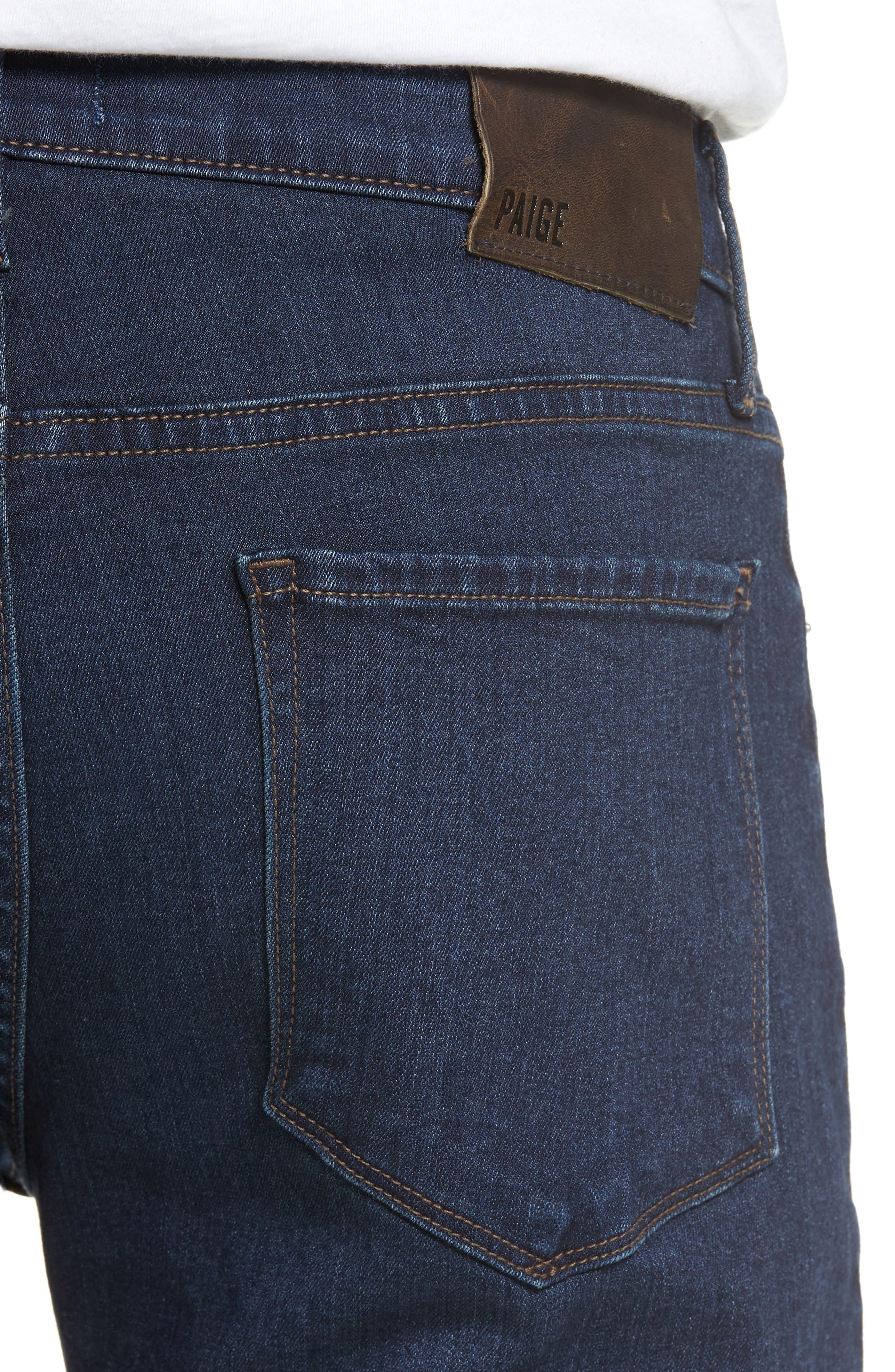 Normandie Straight Leg Jeans,                             Alternate thumbnail 4, color,                             400