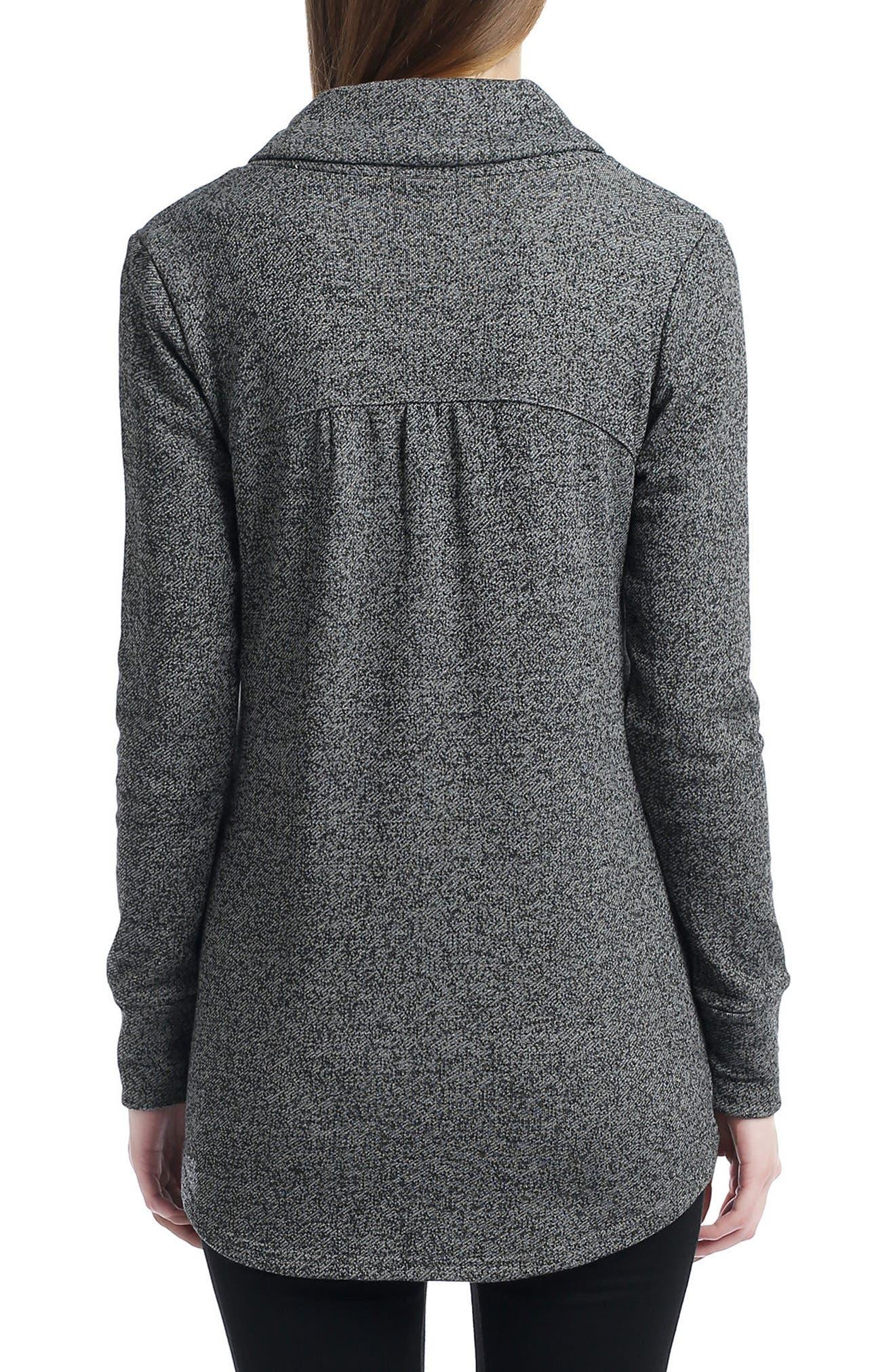 Sadie Shawl Collar Maternity Sweatshirt,                             Alternate thumbnail 2, color,                             020
