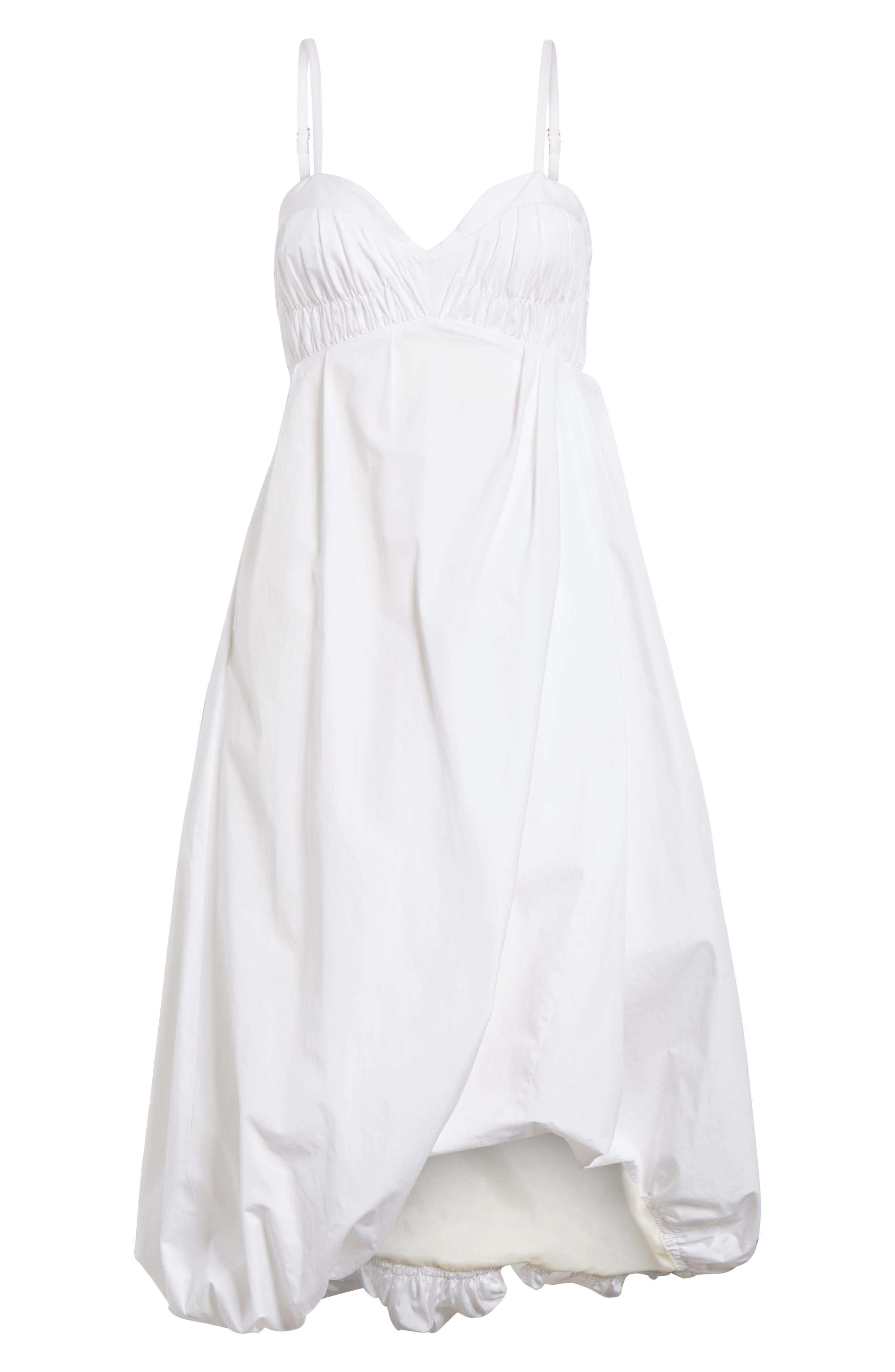 Bubble Hem Dress,                             Alternate thumbnail 7, color,                             400