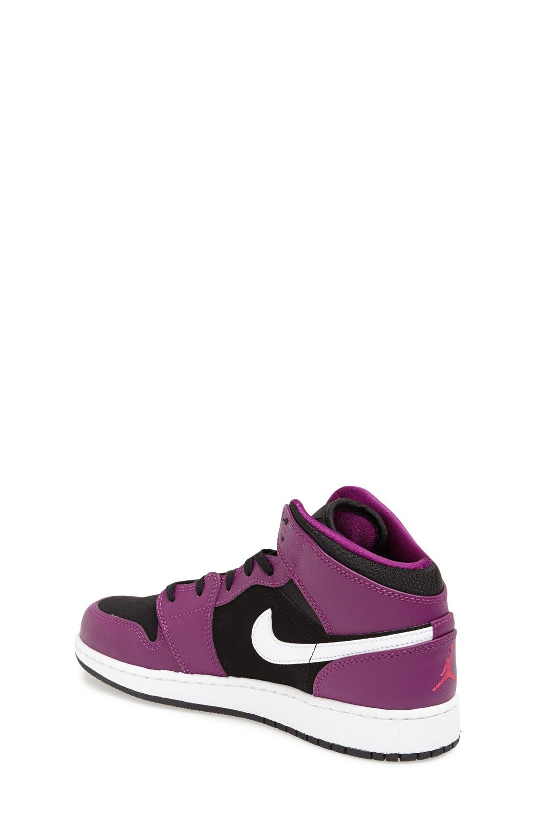 Nike 'Air Jordan 1 Mid' Sneaker,                             Alternate thumbnail 10, color,