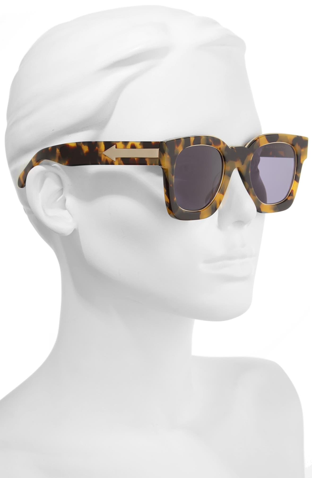 x Monumental Pablo 50mm Polarized Sunglasses,                             Alternate thumbnail 2, color,