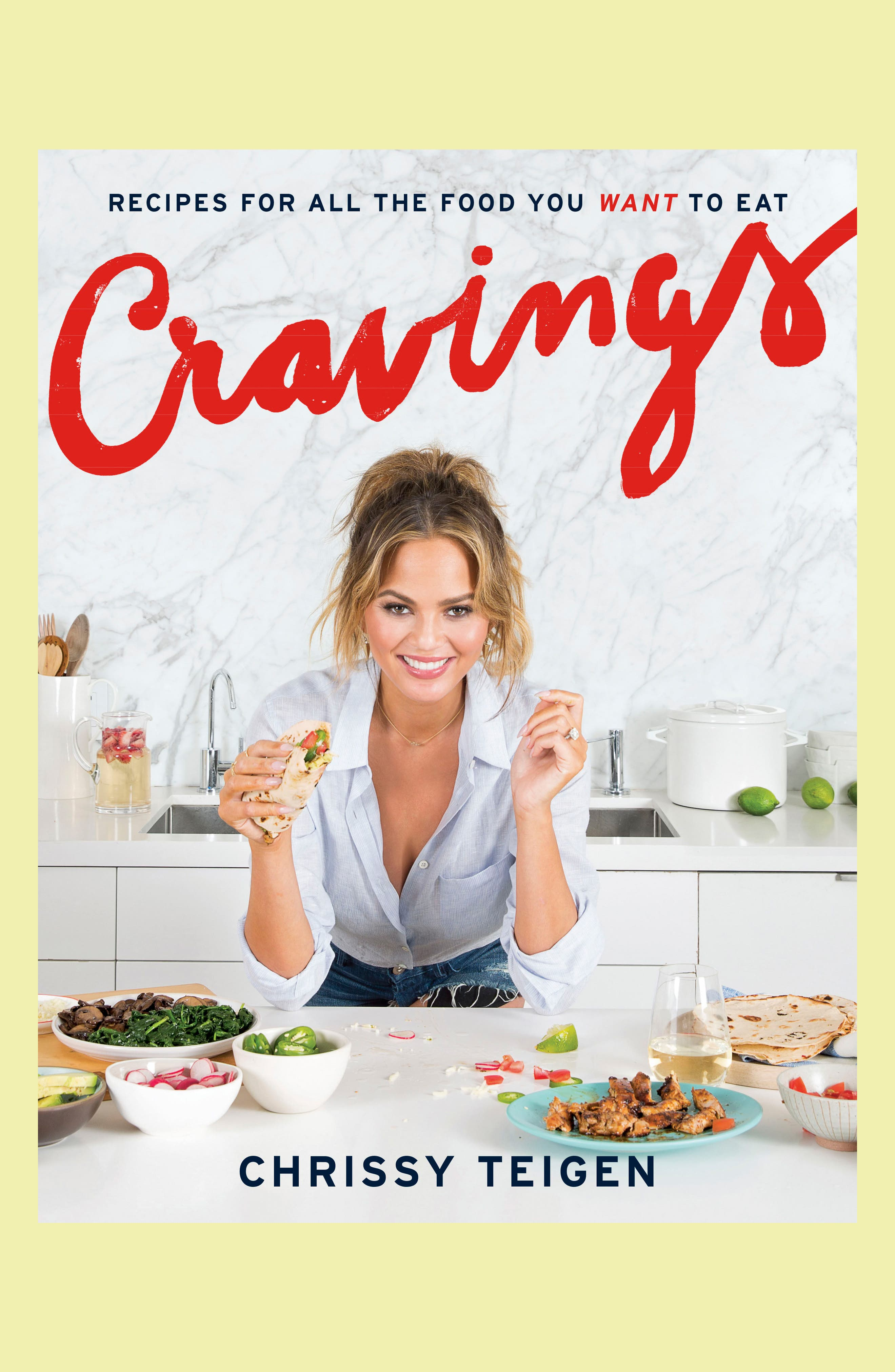 Cravings: Recipes for all the Foods You Want to Eat Cookbook,                         Main,                         color, 100