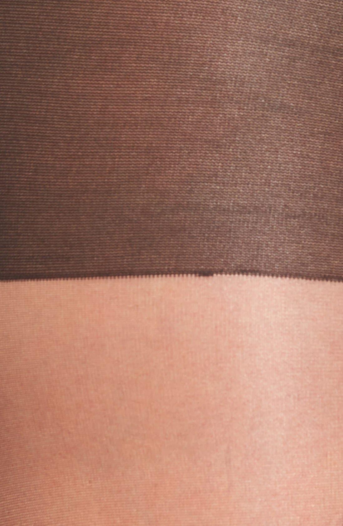 Waist Control Sheer Pantyhose,                             Alternate thumbnail 11, color,