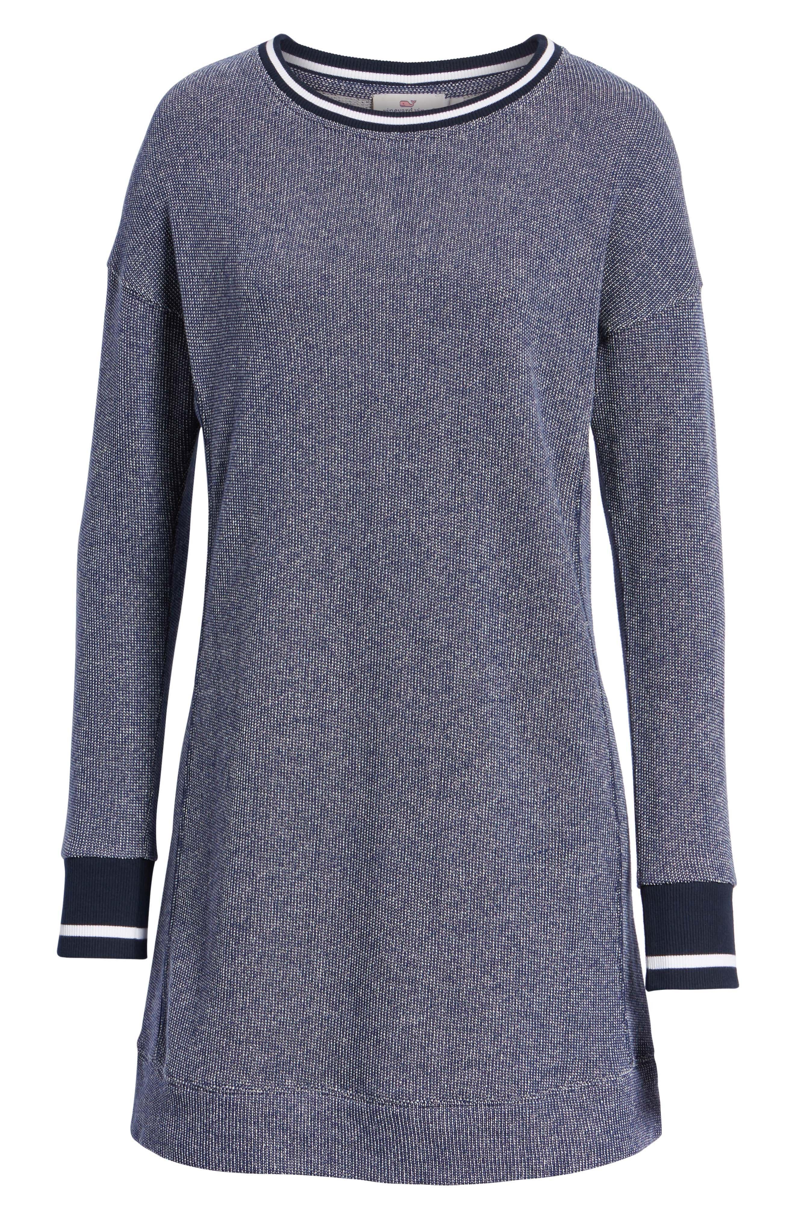 Sweatshirt Dress,                             Alternate thumbnail 7, color,                             476
