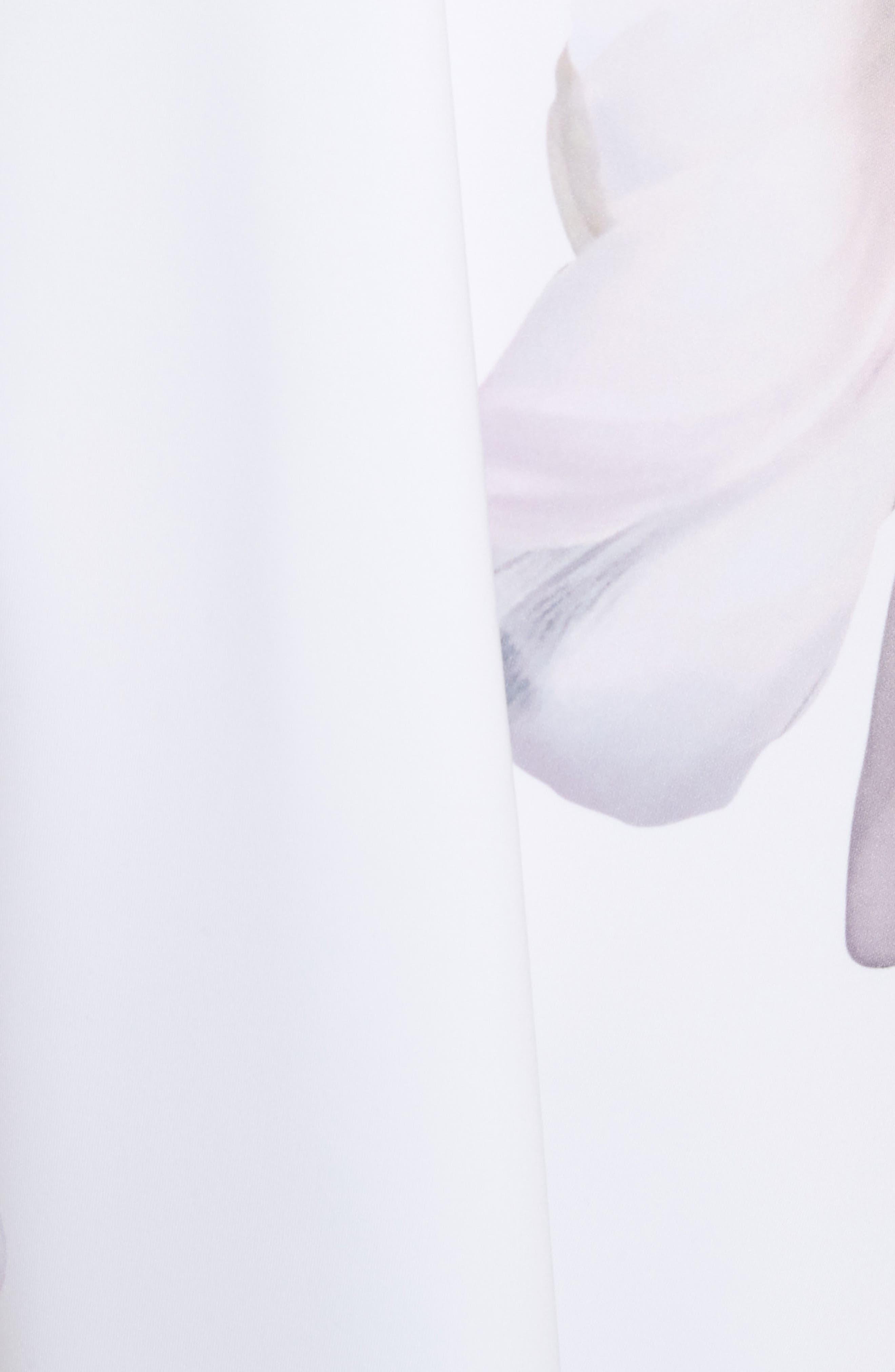 Gardenia Skater Dress,                             Alternate thumbnail 5, color,                             402