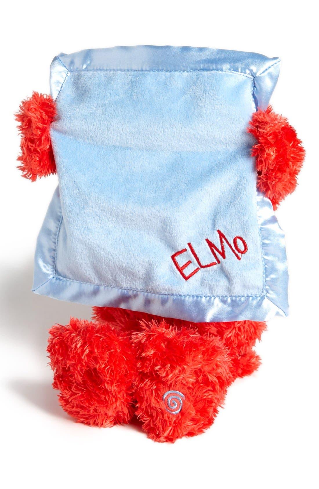 'Sesame Street<sup>®</sup> Peek-A-Boo Elmo<sup>™</sup>' Talking Plush Toy,                             Alternate thumbnail 2, color,                             600