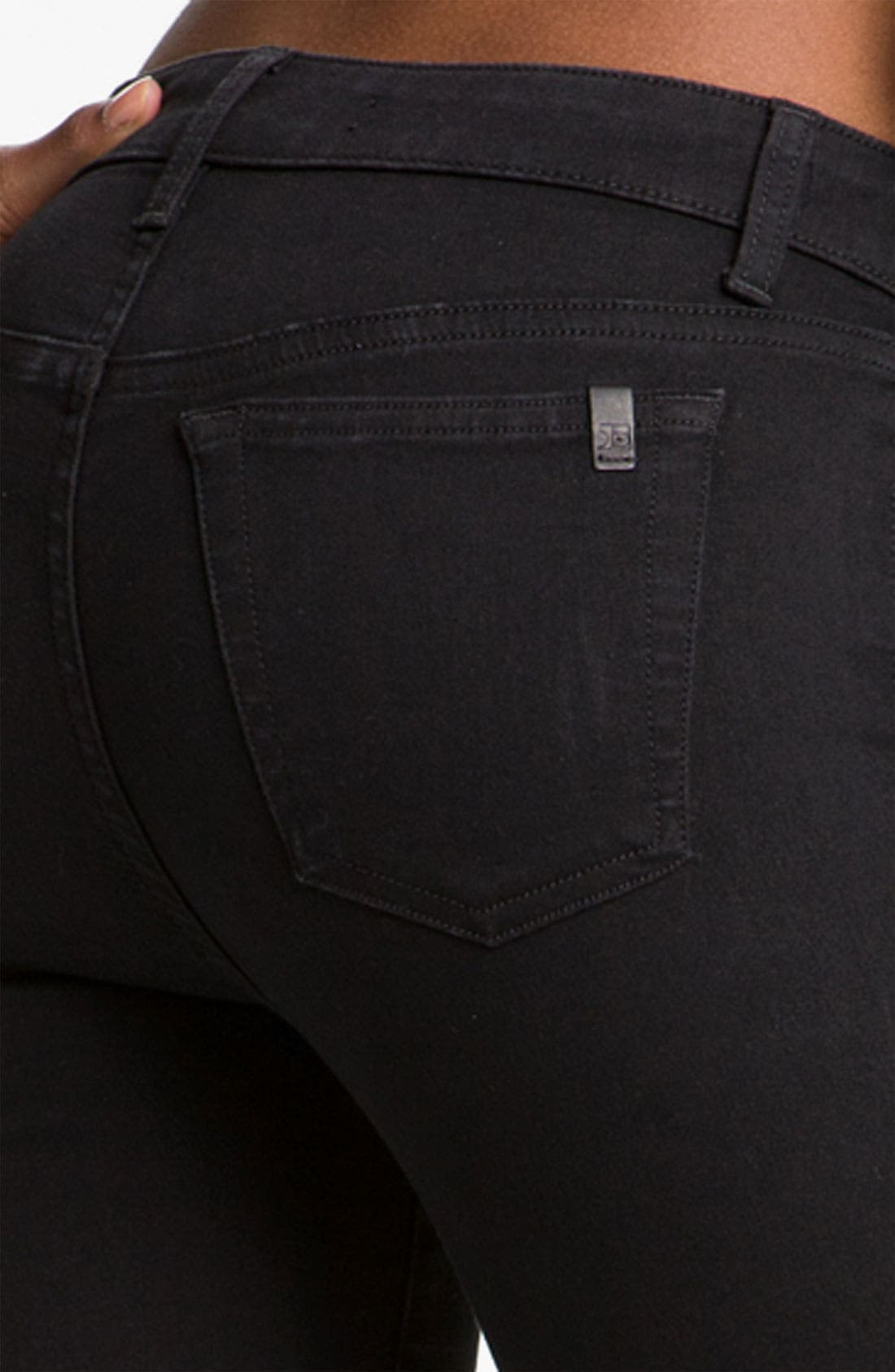 Skinny Stretch Jeans,                             Alternate thumbnail 2, color,                             001